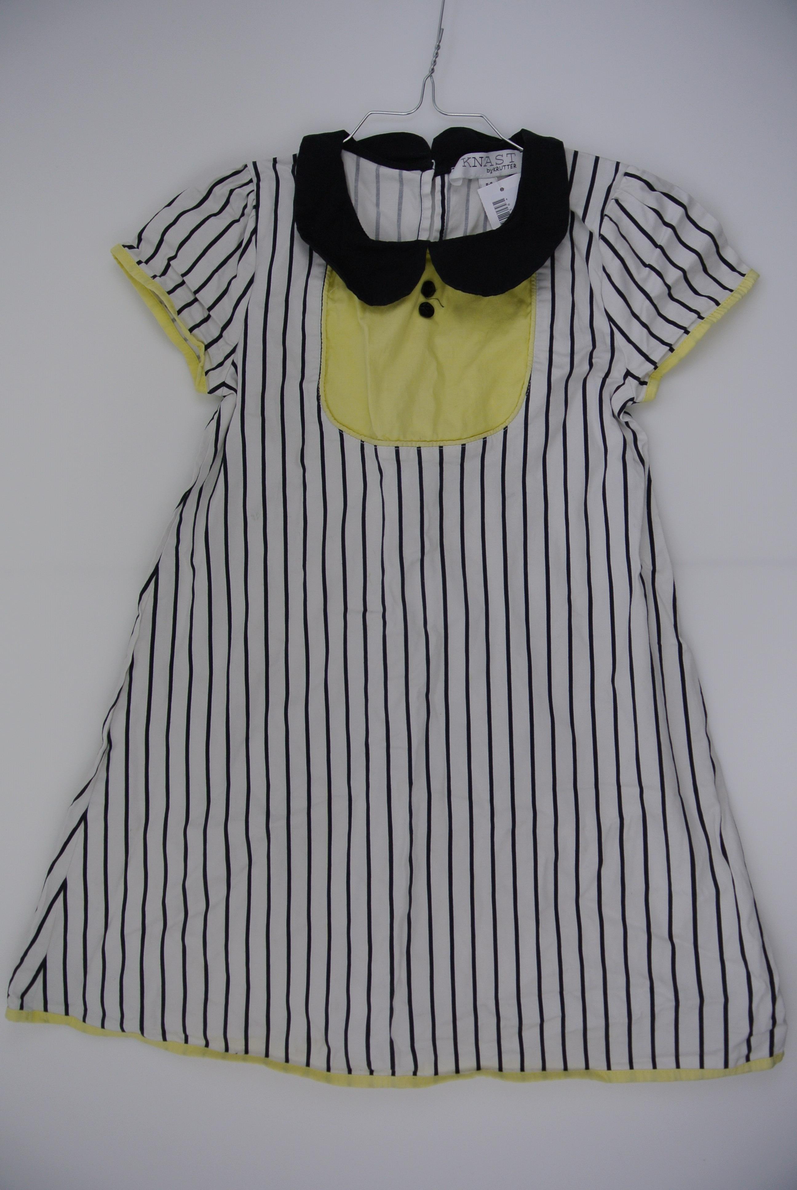 Knast kjole str 128 pige 8-9 år