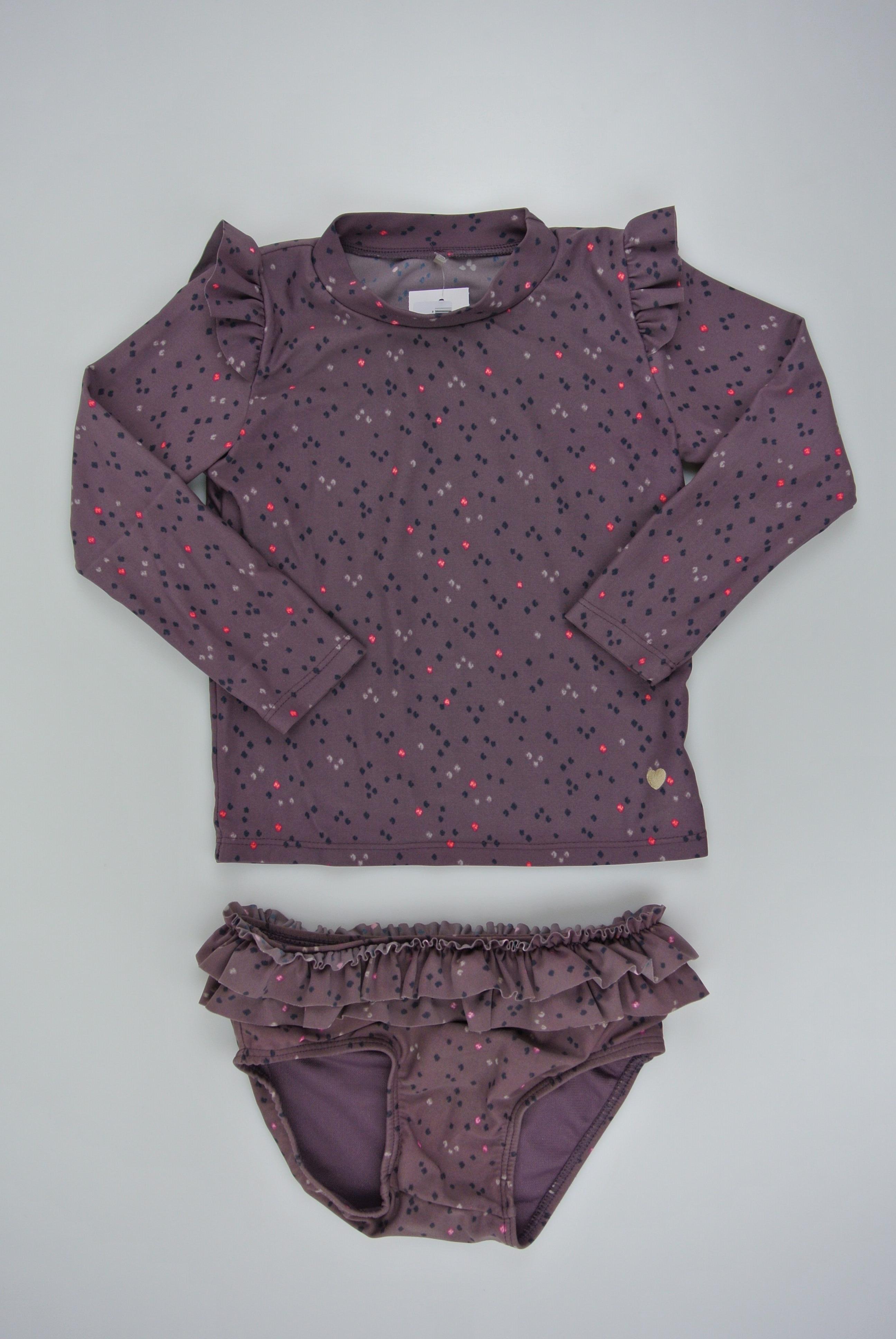 Pompdelux badetøj str 86 pige 86/92