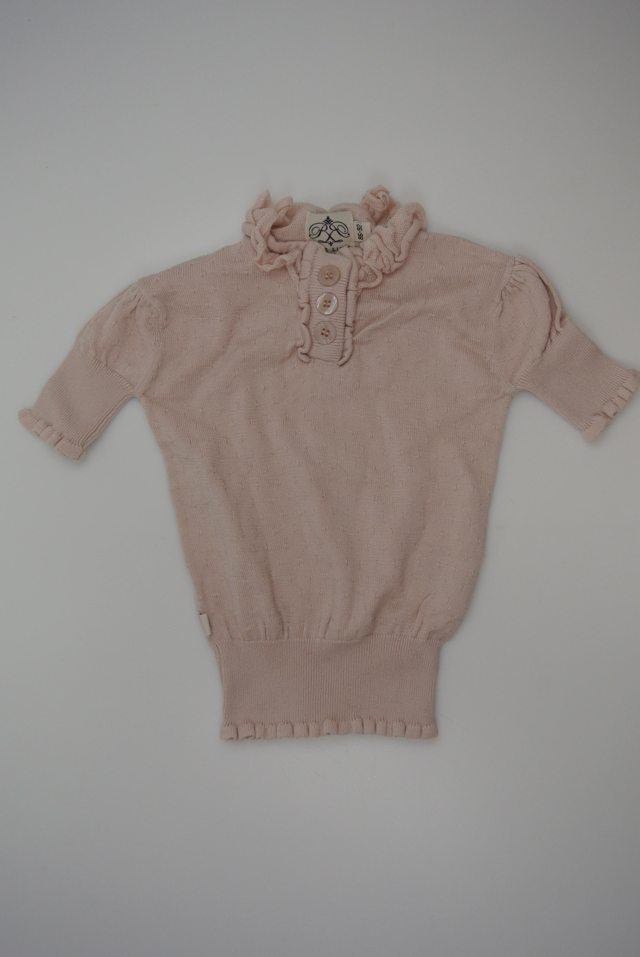 Rose Lille t-shirt str 86/92 pige