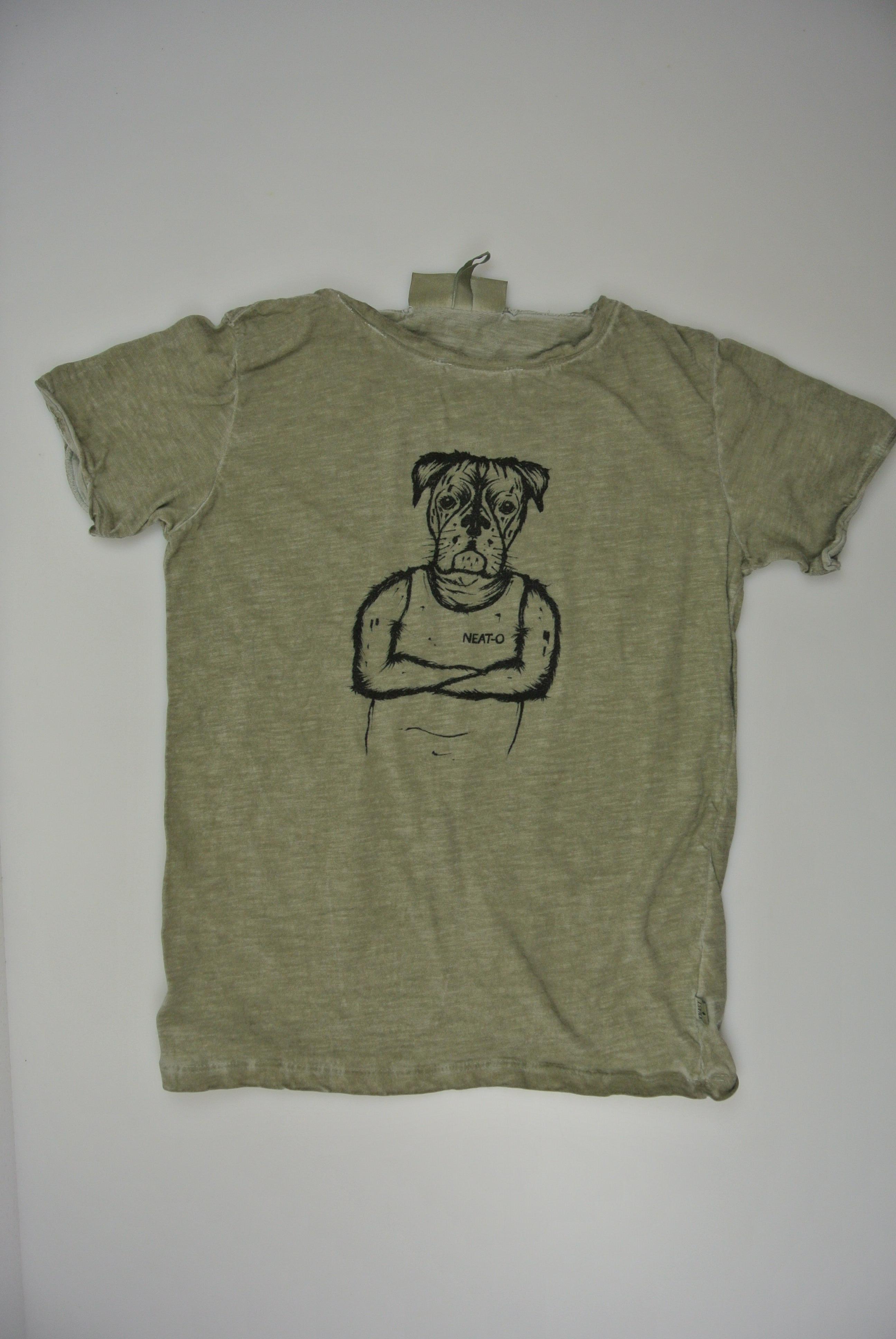 Knast by krutter t-shirt str 122/128 dreng