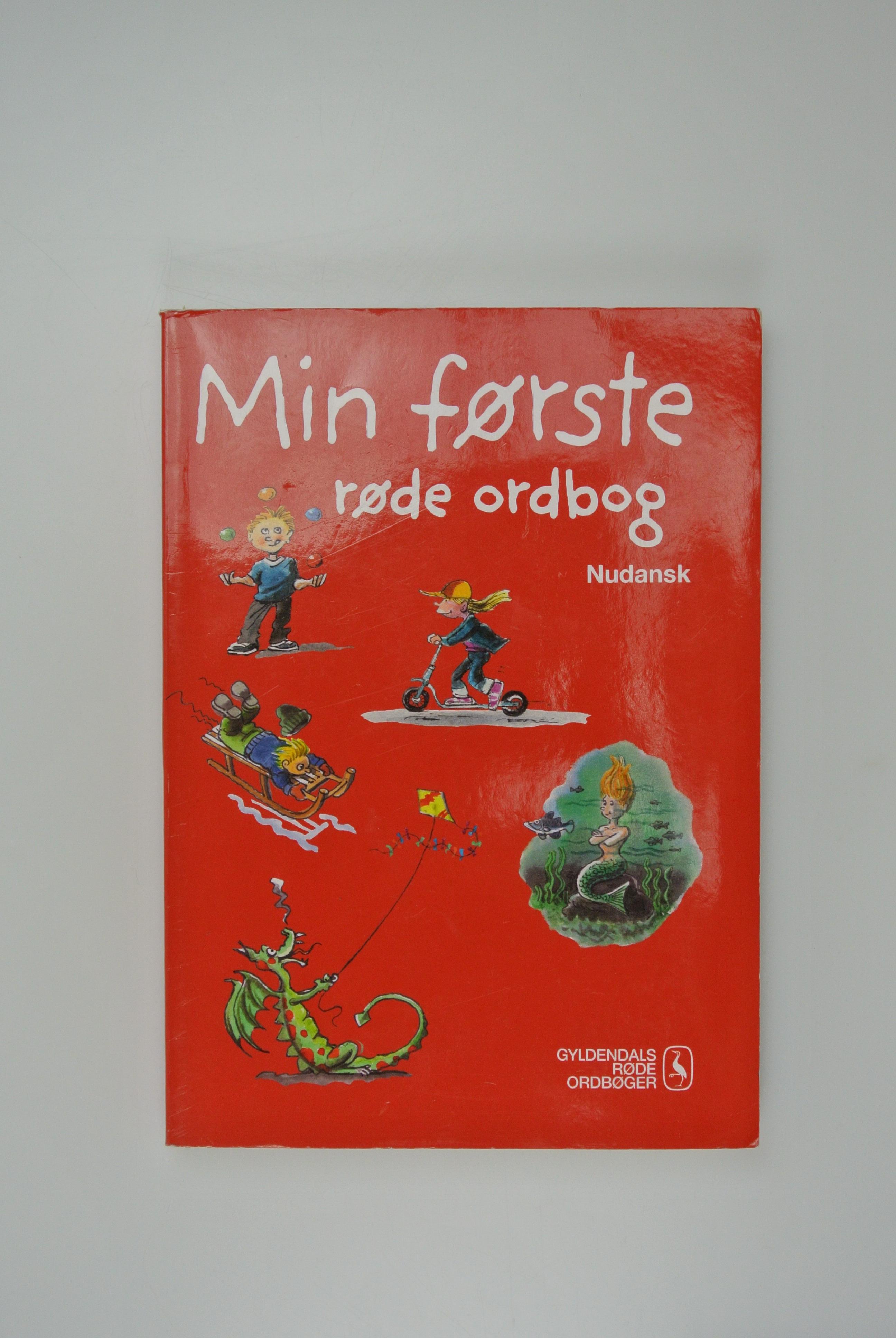 Min første ordsbog nudansk bog