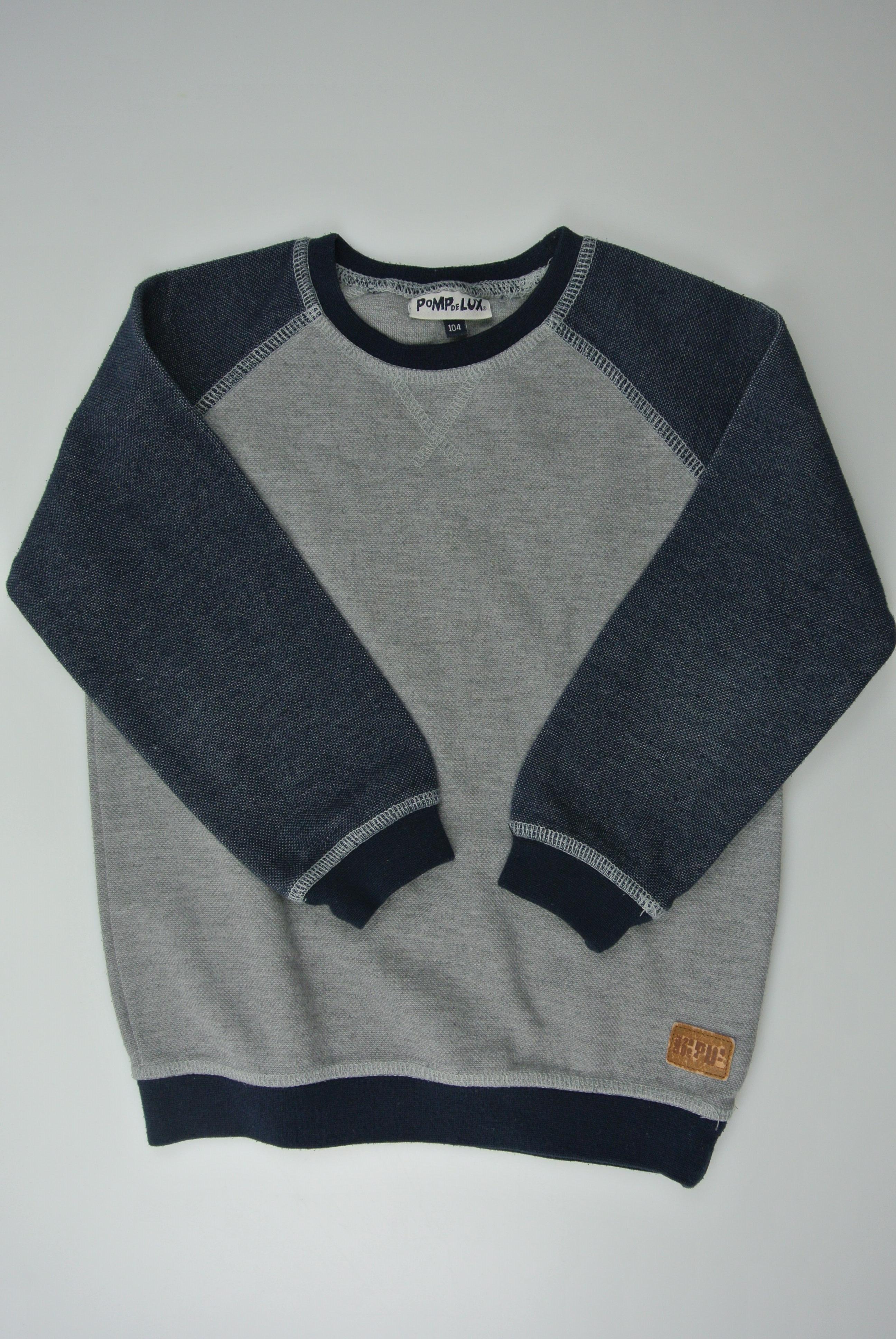 Pompdelux trøje str 104 dreng