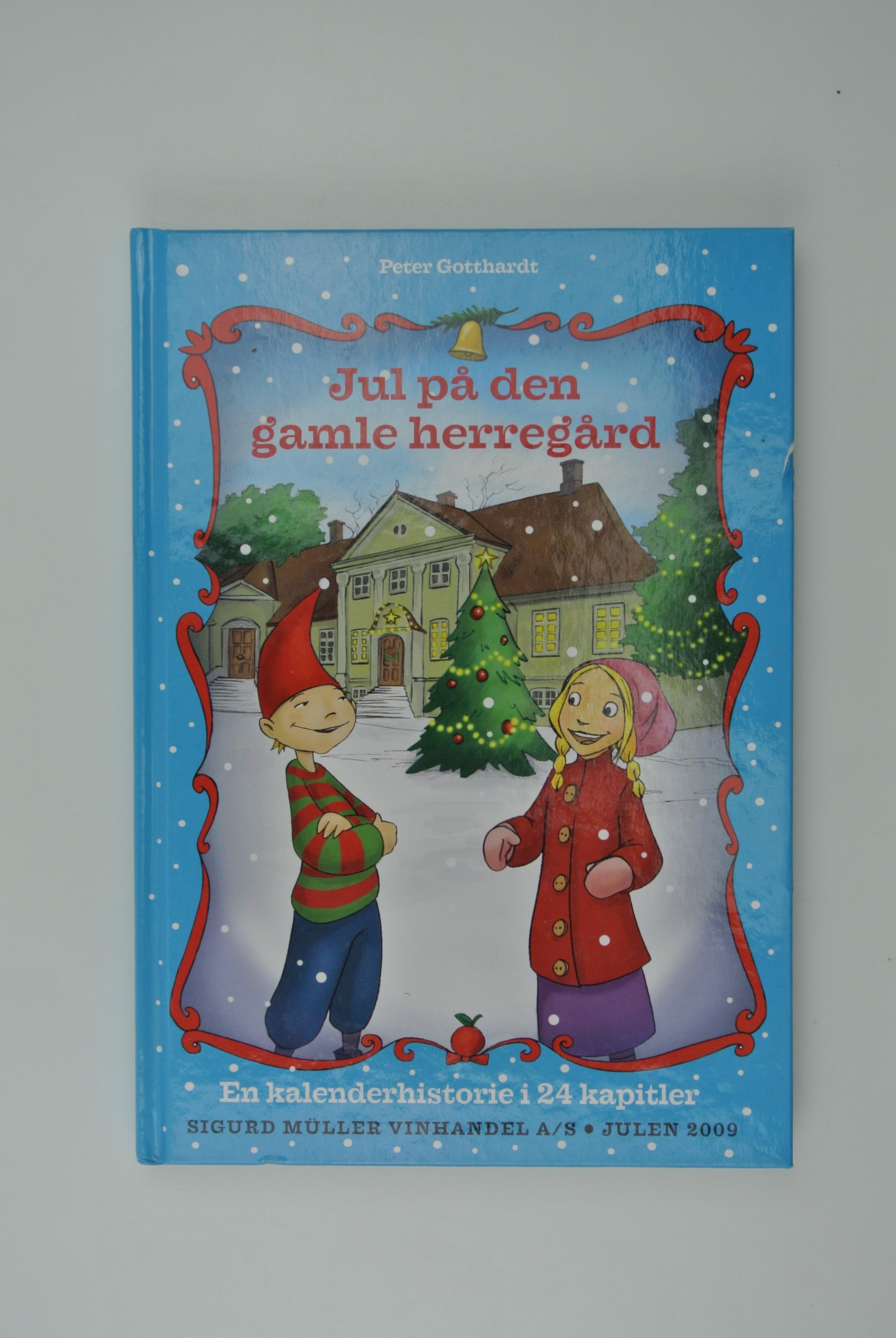 Jul på den gamle herregård bog