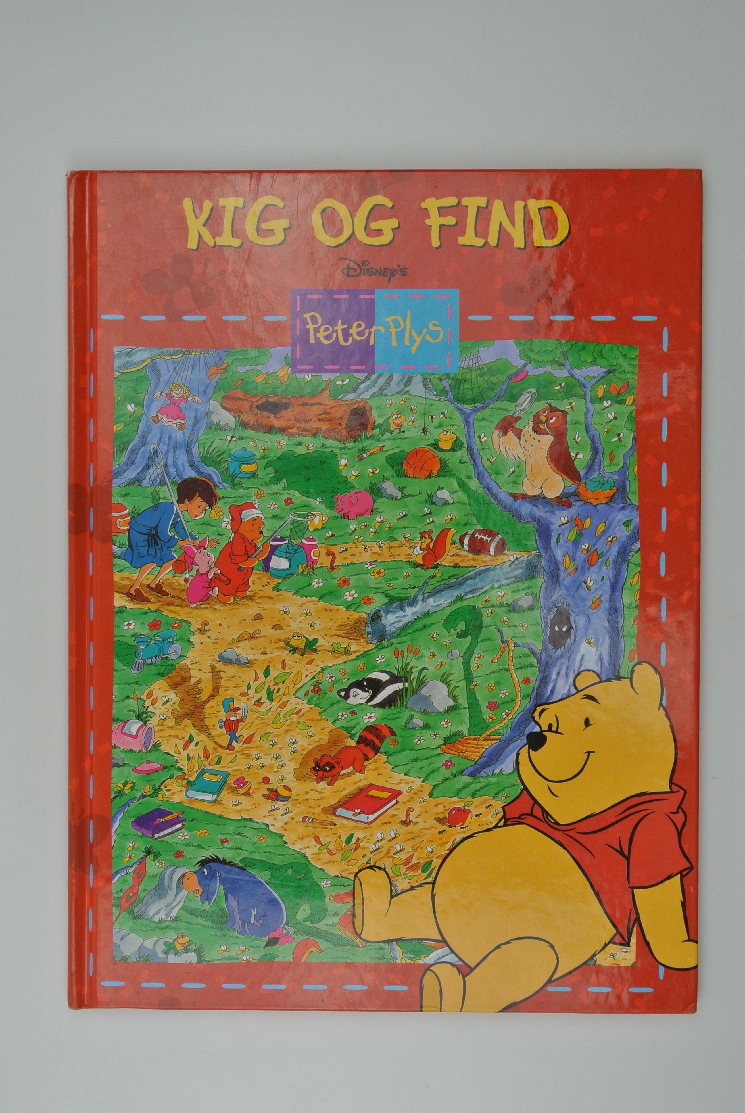Kig og find peter plys bog
