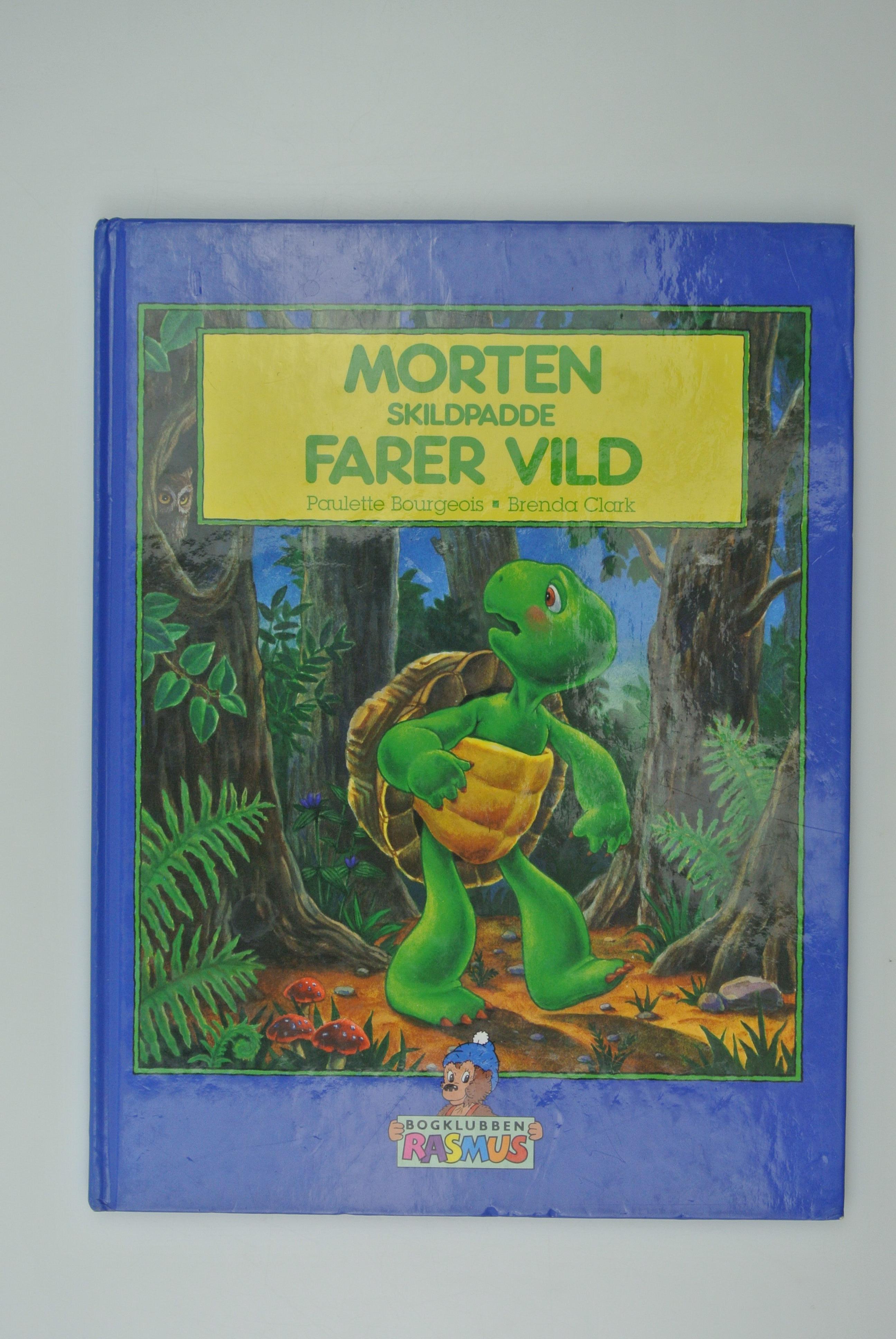 Morten Skildpadde Farer vild bog