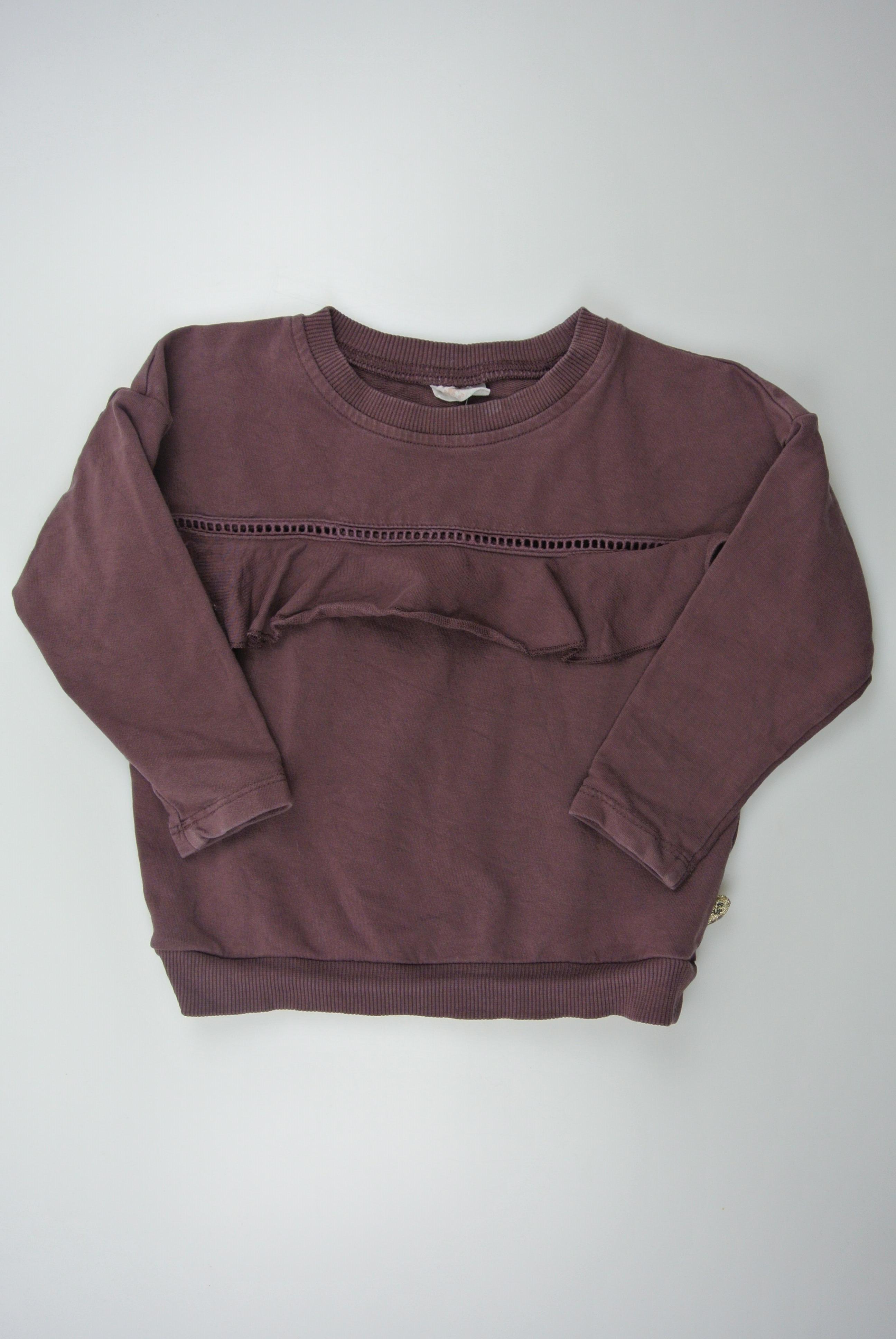Pompdelux trøje str 86 pige