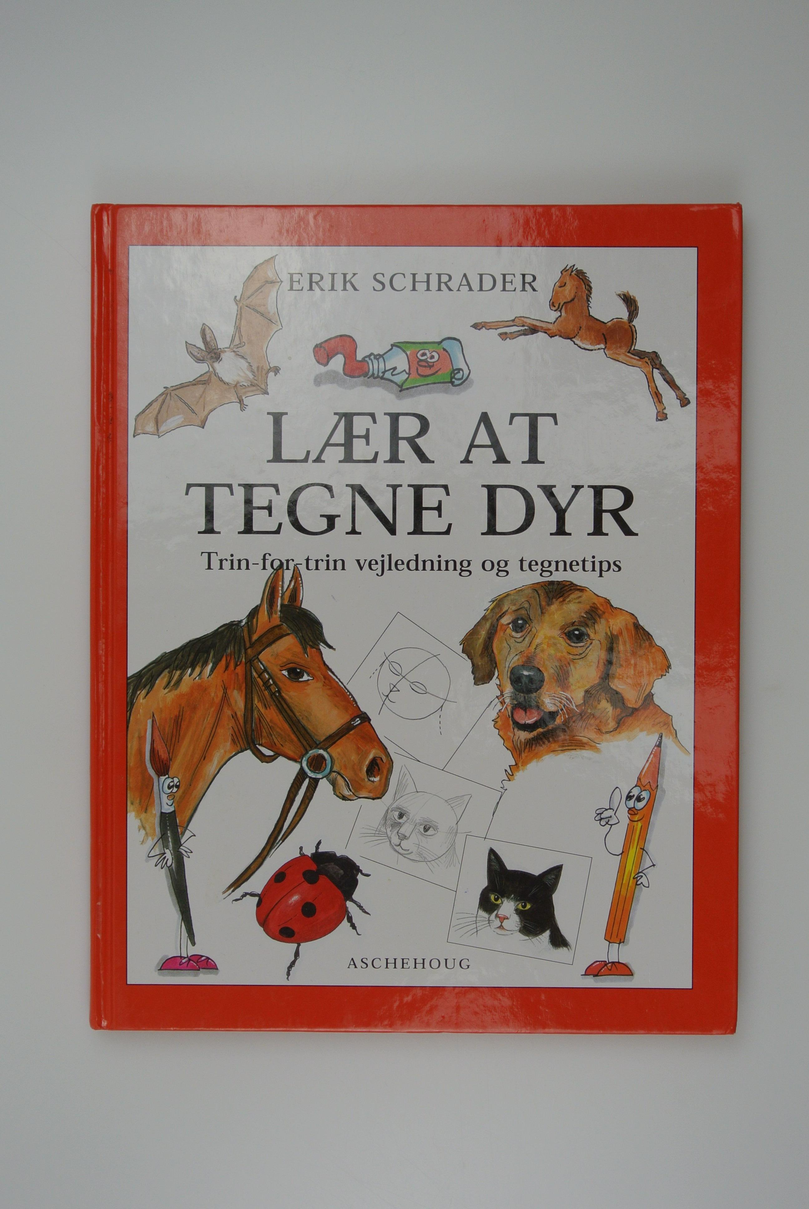 Lær at tegne dyr bog