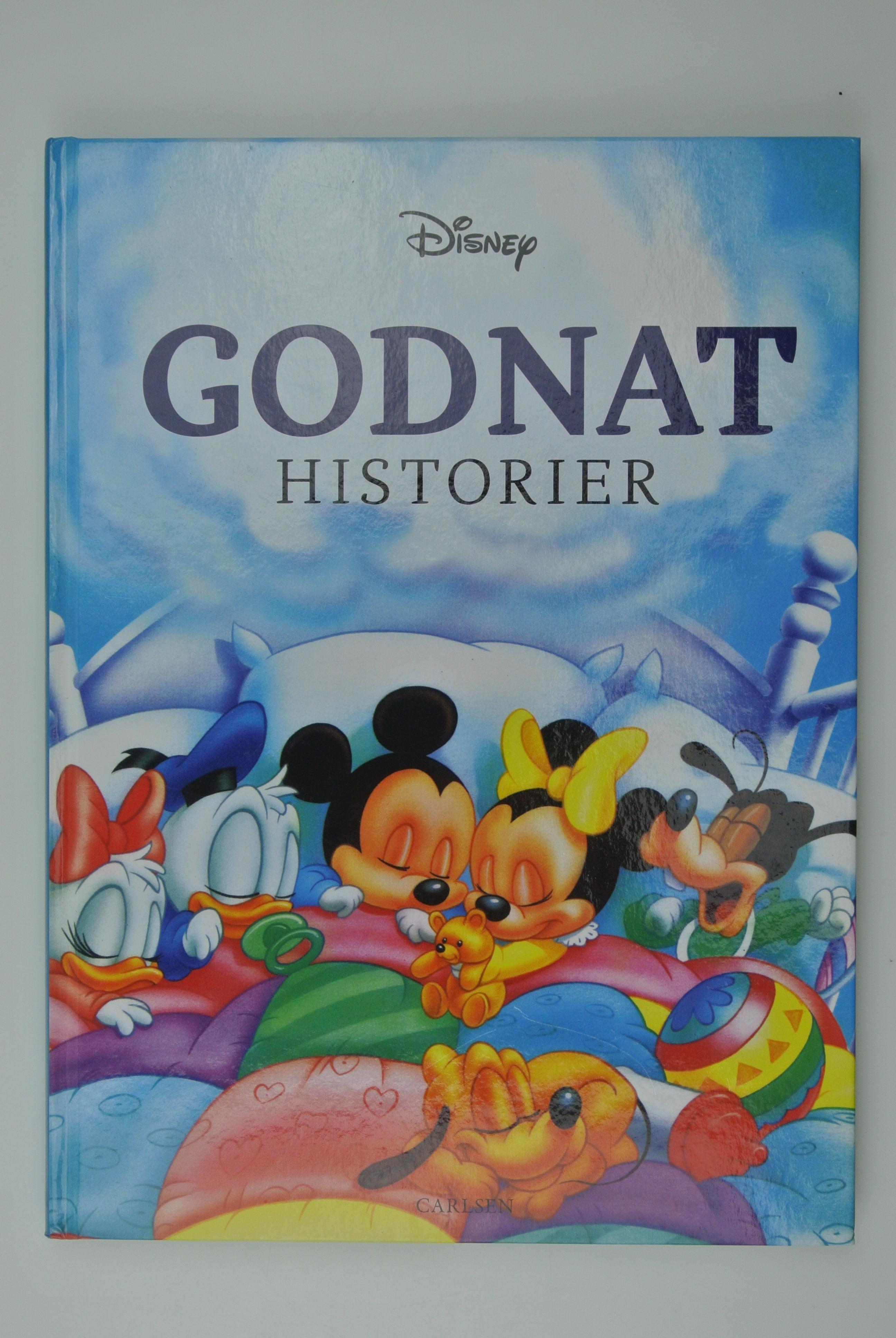 Disney godnat historier bog