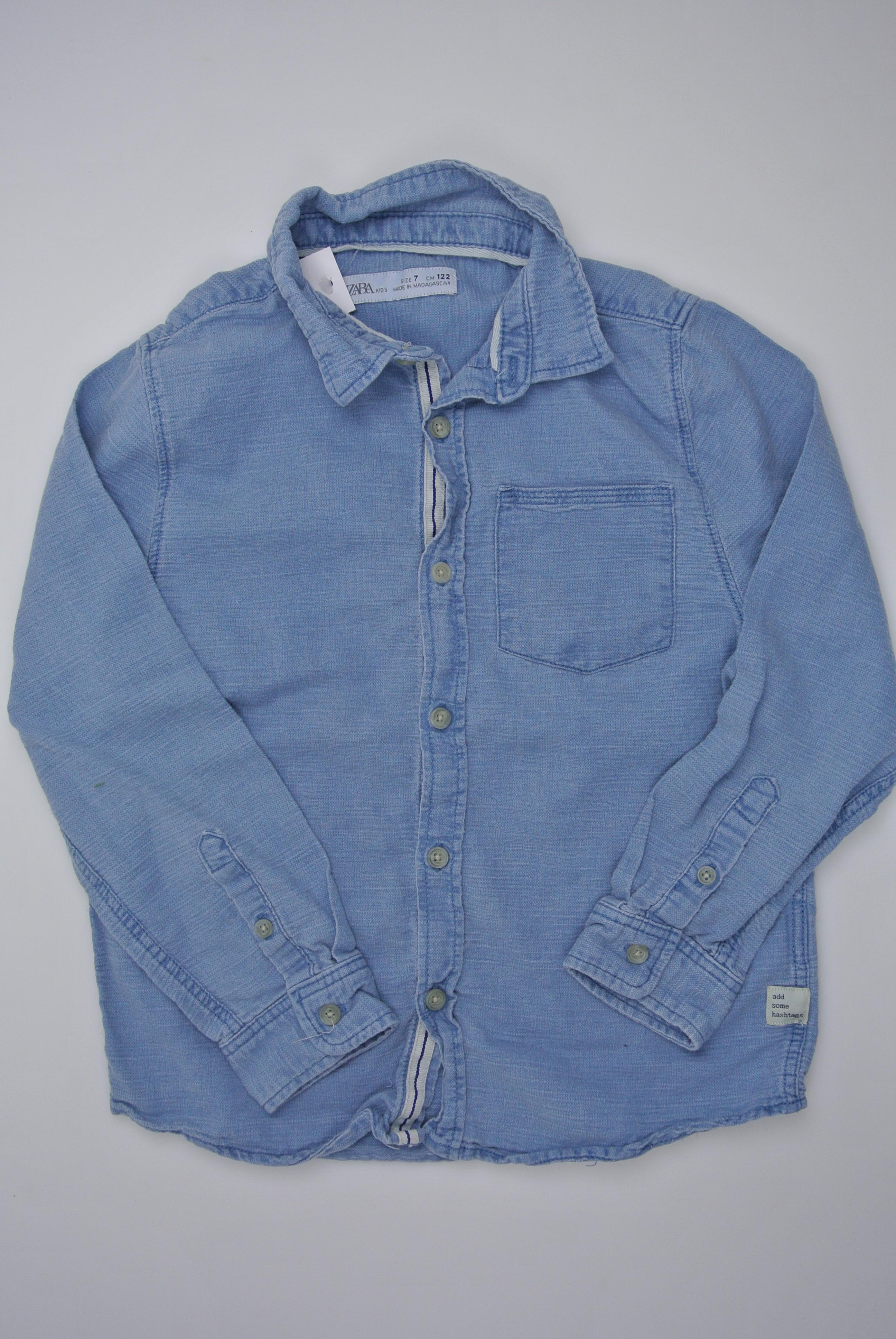 Zara skjorte str 122 dreng