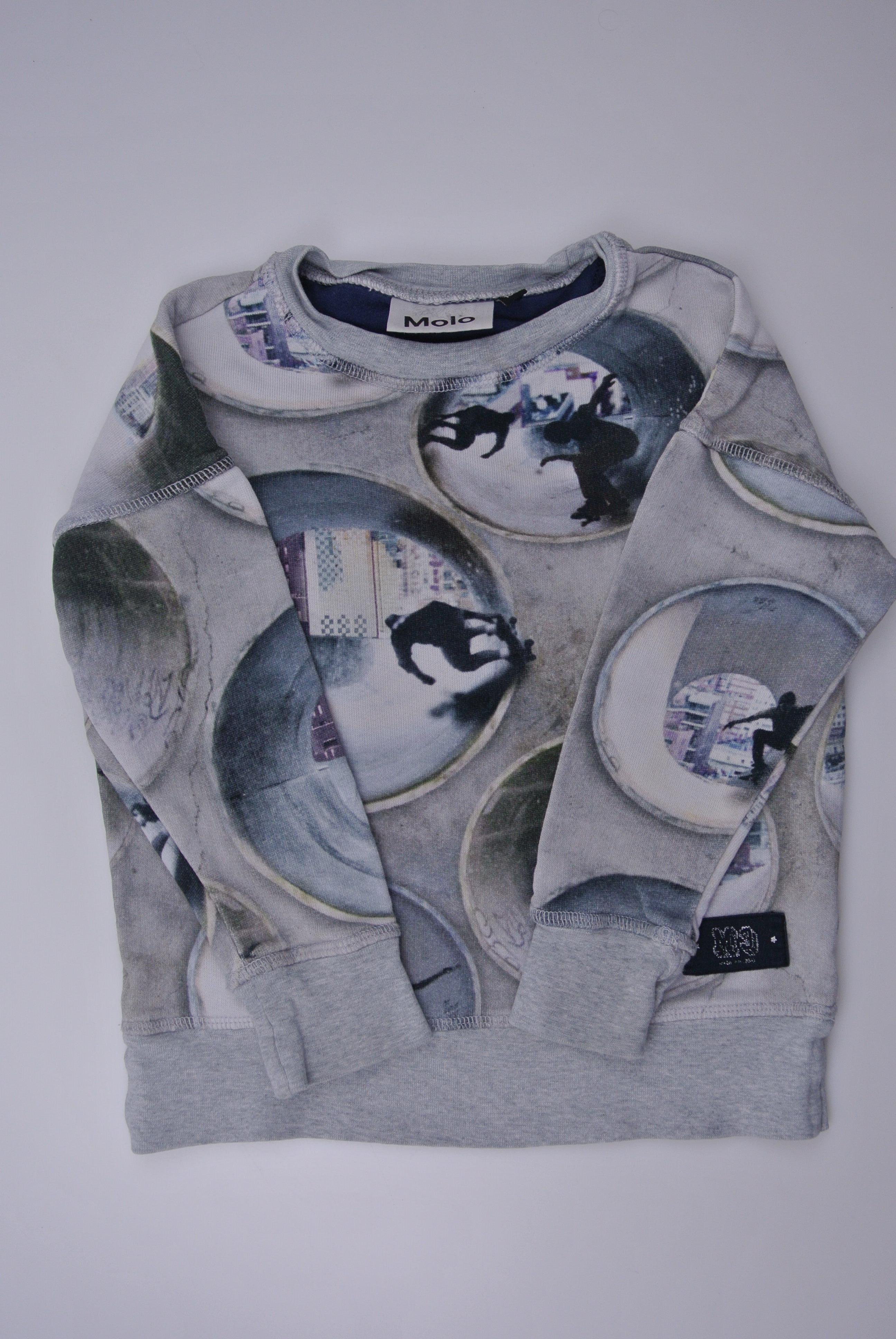 Molo trøje str 104 dreng