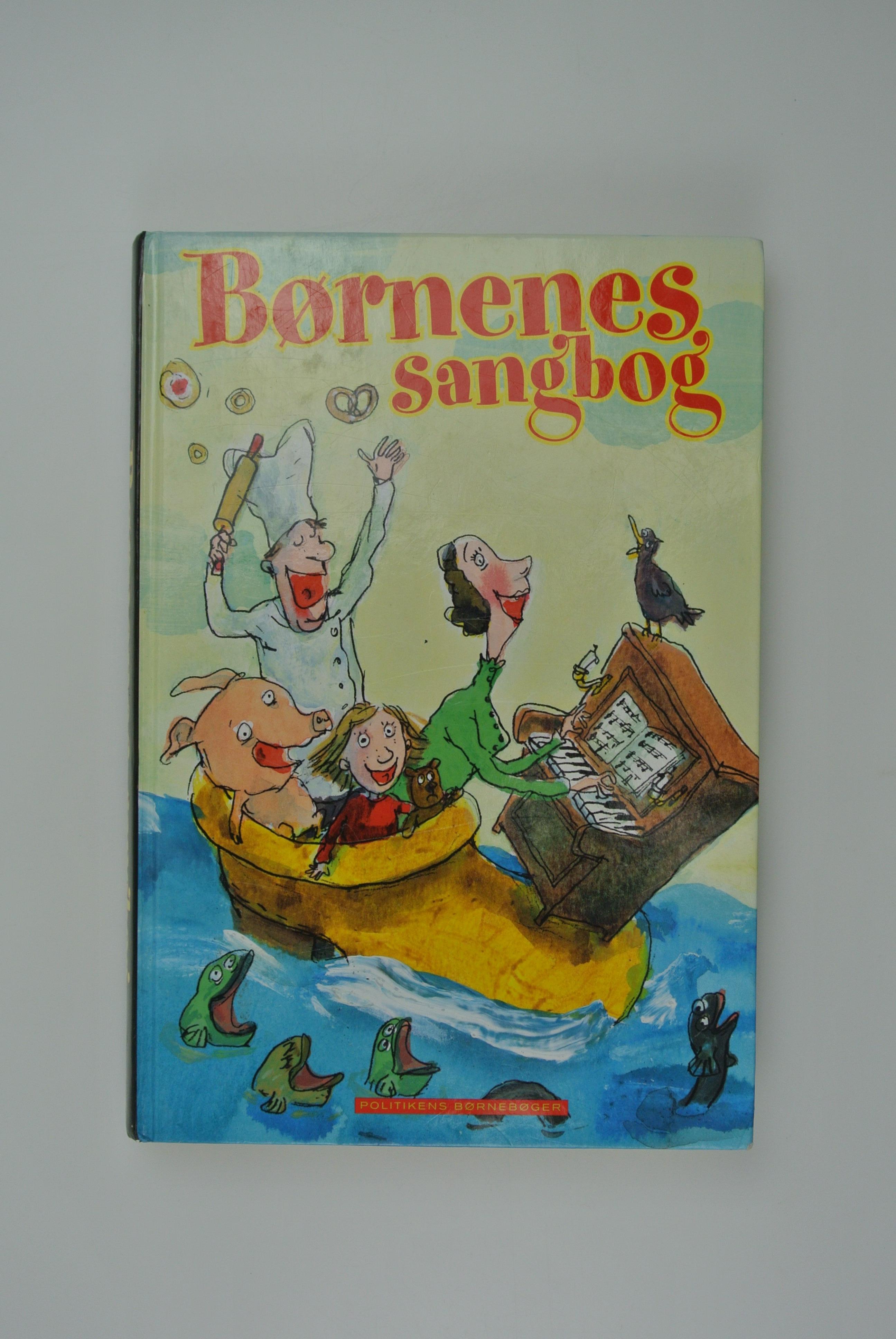 Børnenes sangbog bog