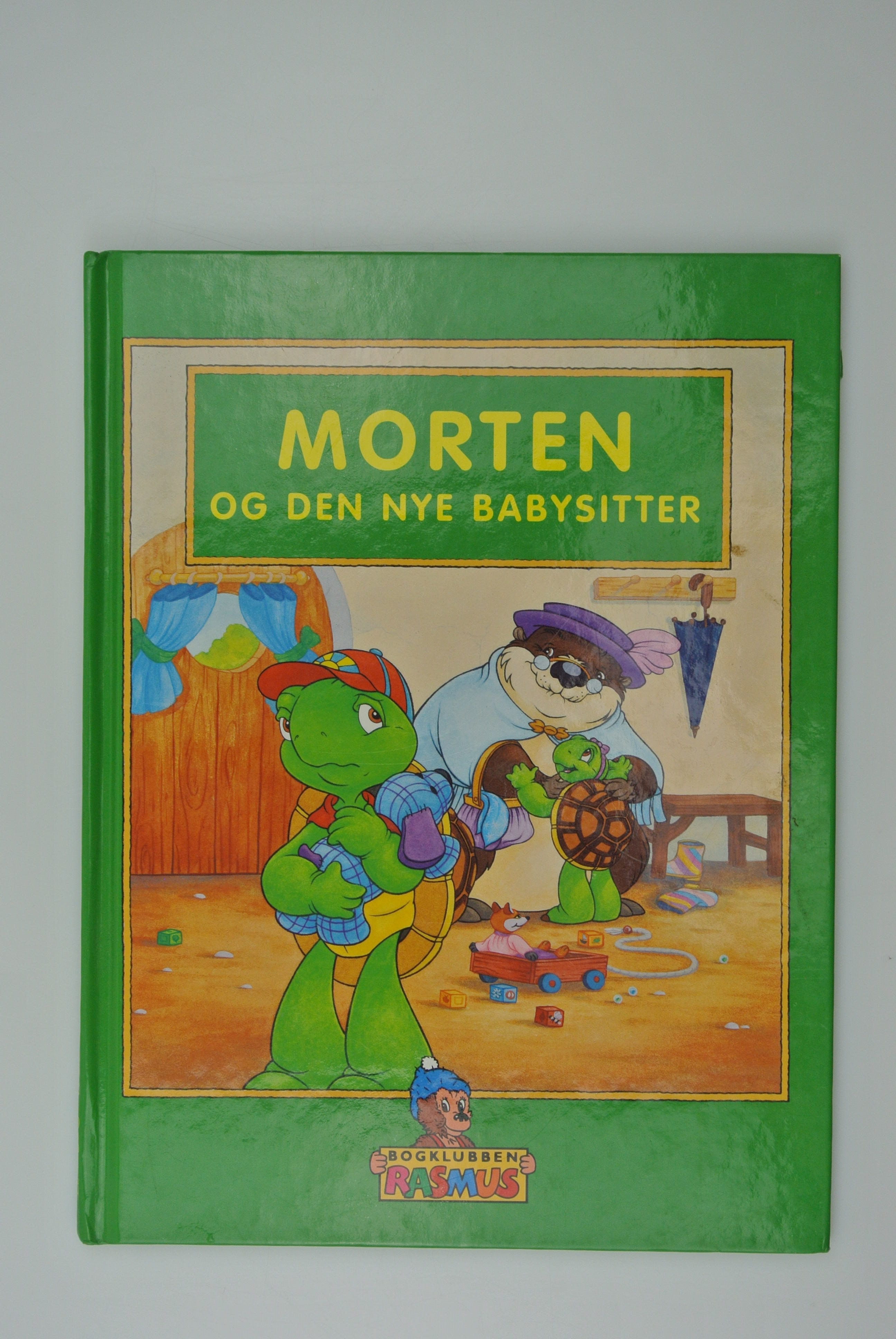 Morten Skildpadde og den nye babysitter bog