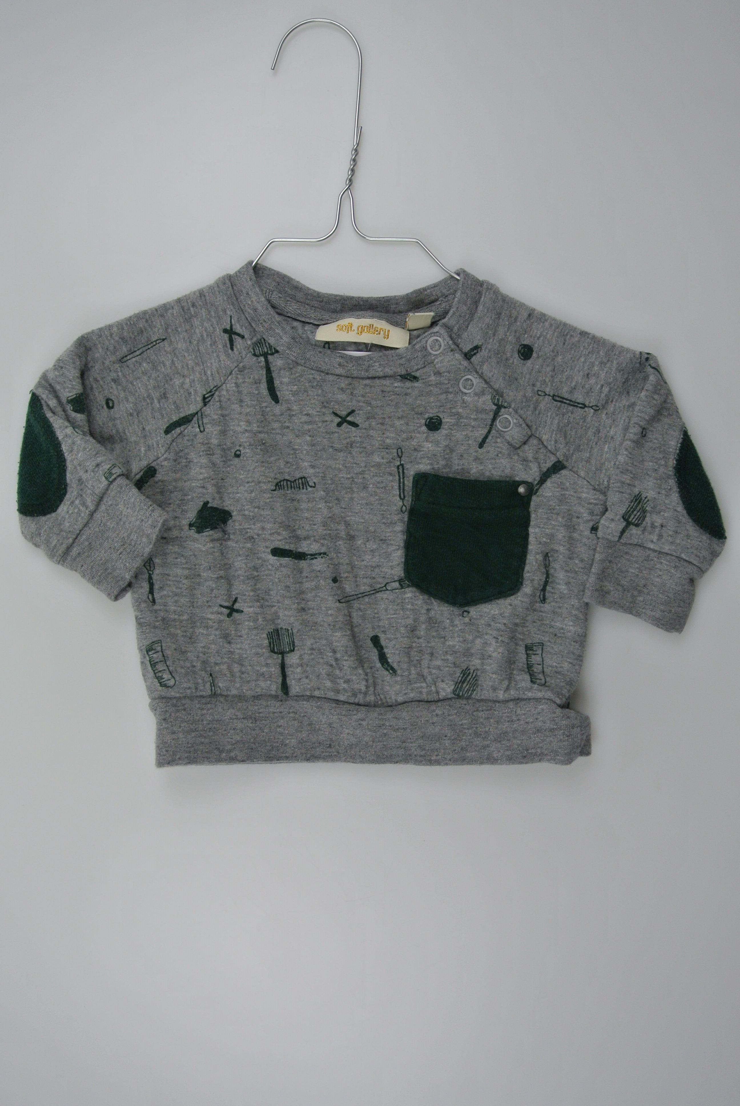 Soft gallery trøje str 68 dreng