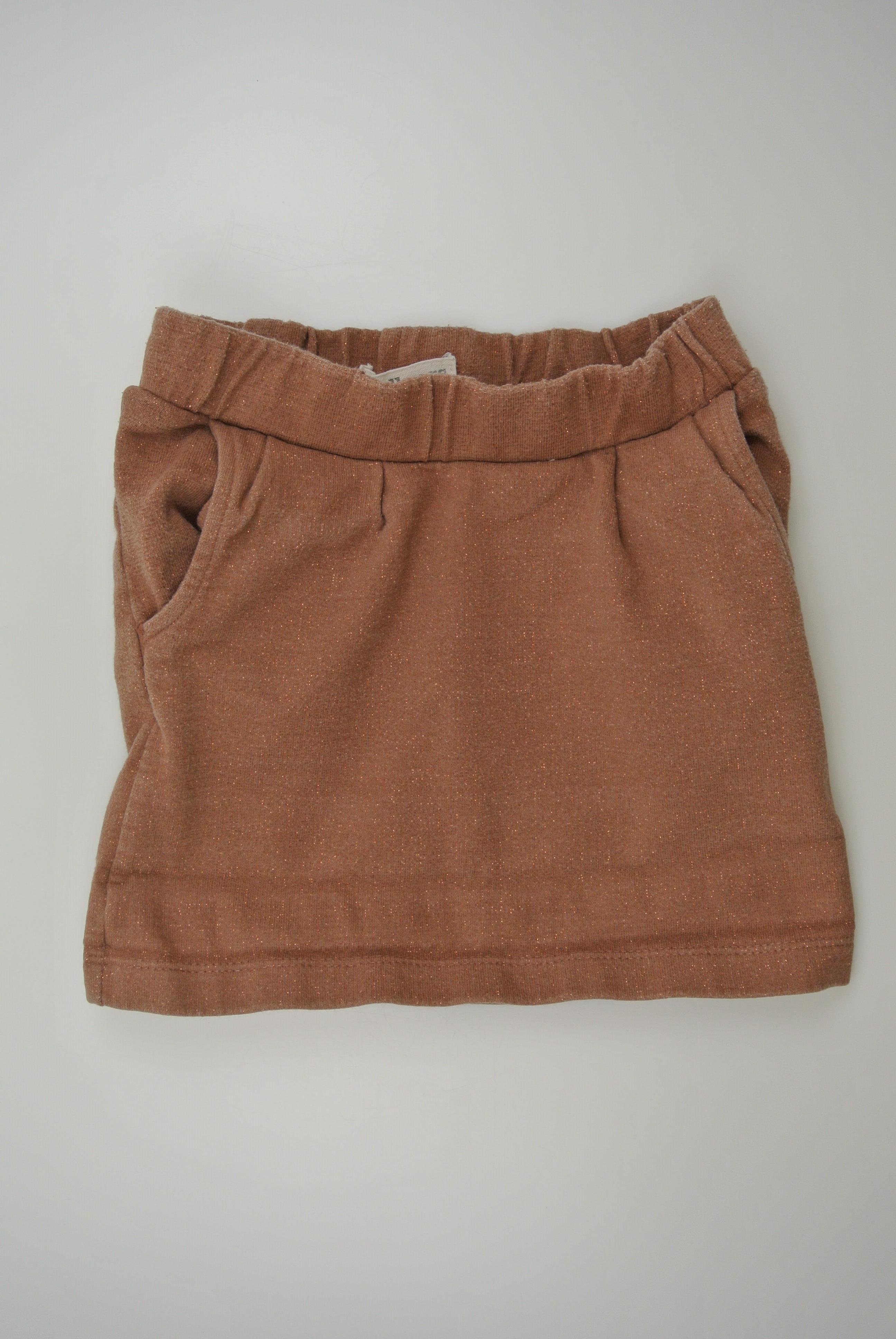 Small rags nederdel str 116 pige