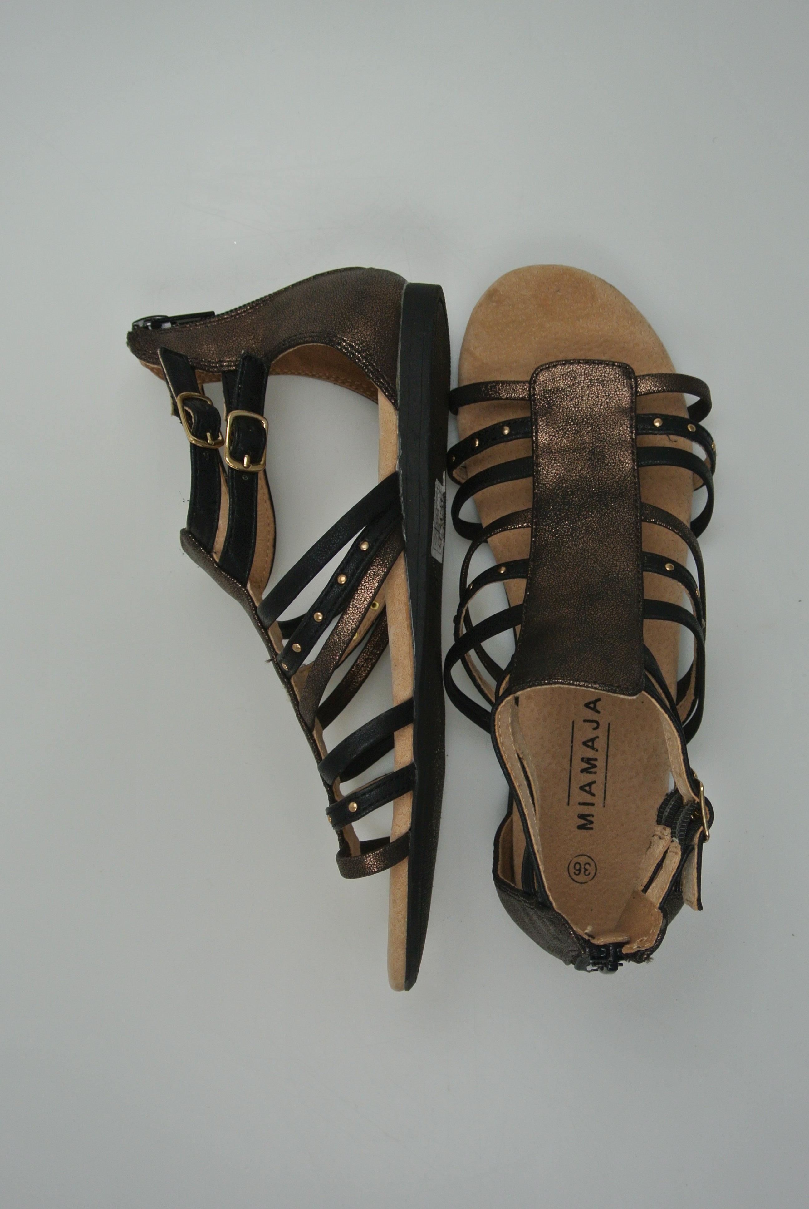 Miamaja sandaler str 36 pige ny
