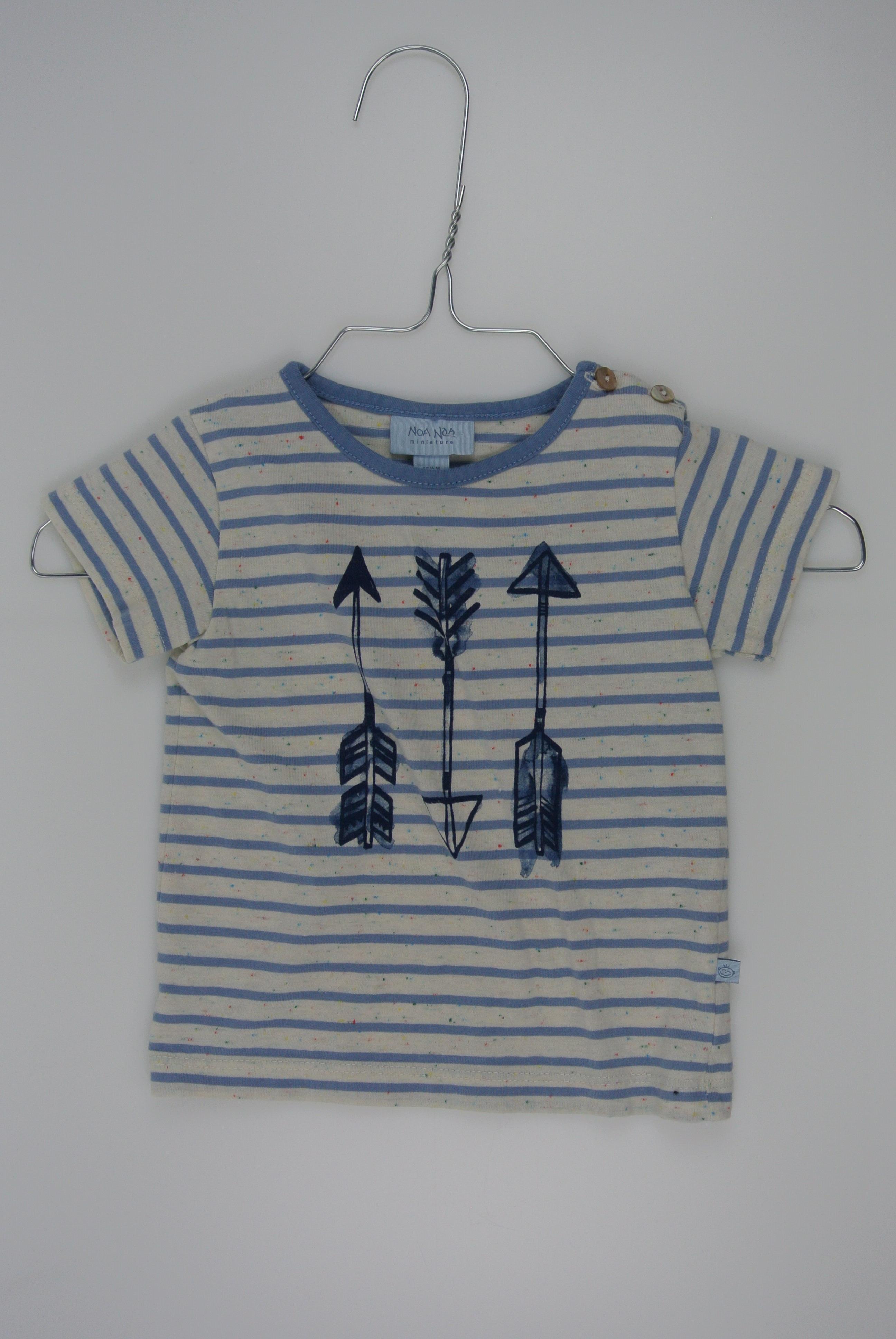 Noa Noa t-shirt str 68 dreng