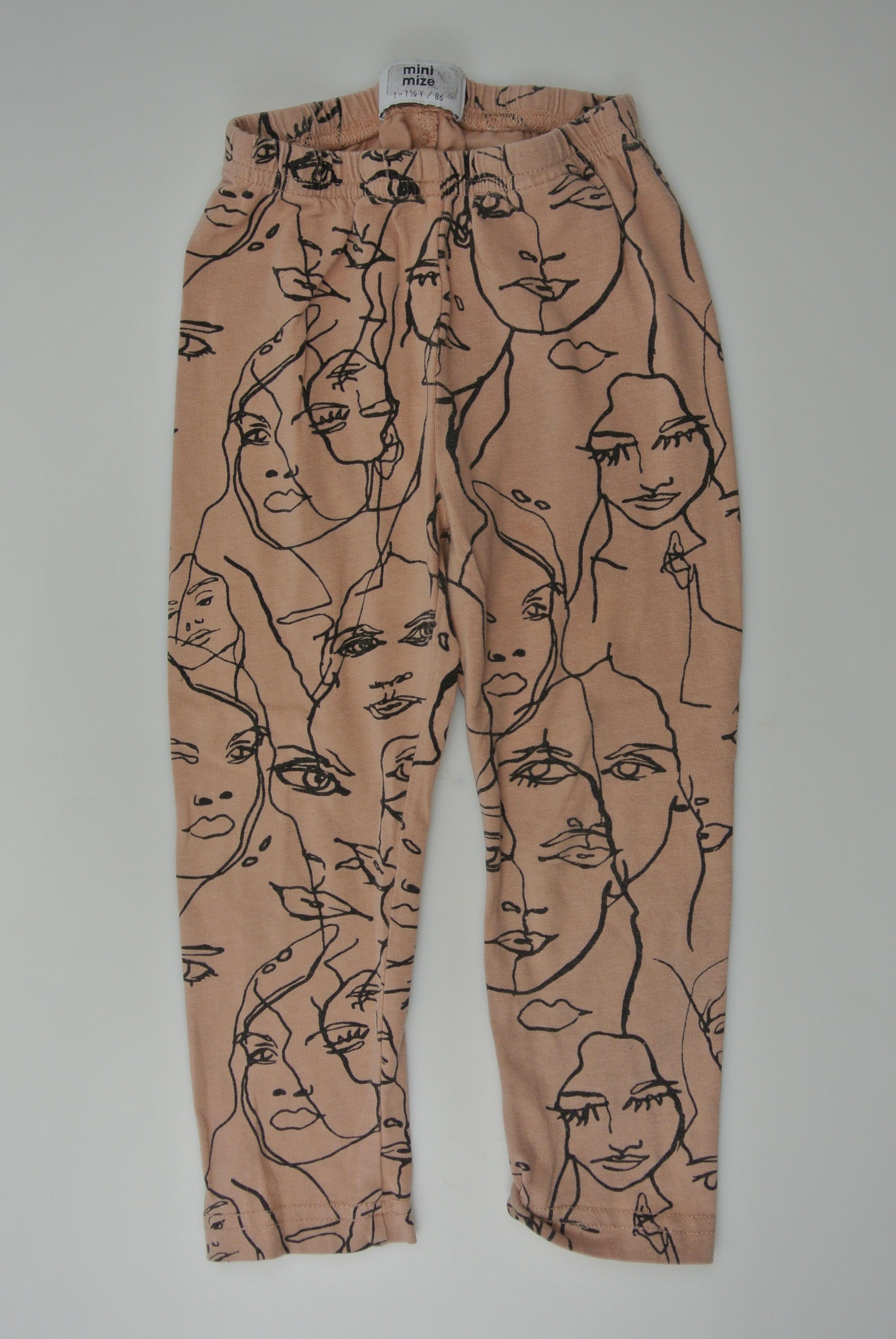 Mini mize bukser str 86 pige