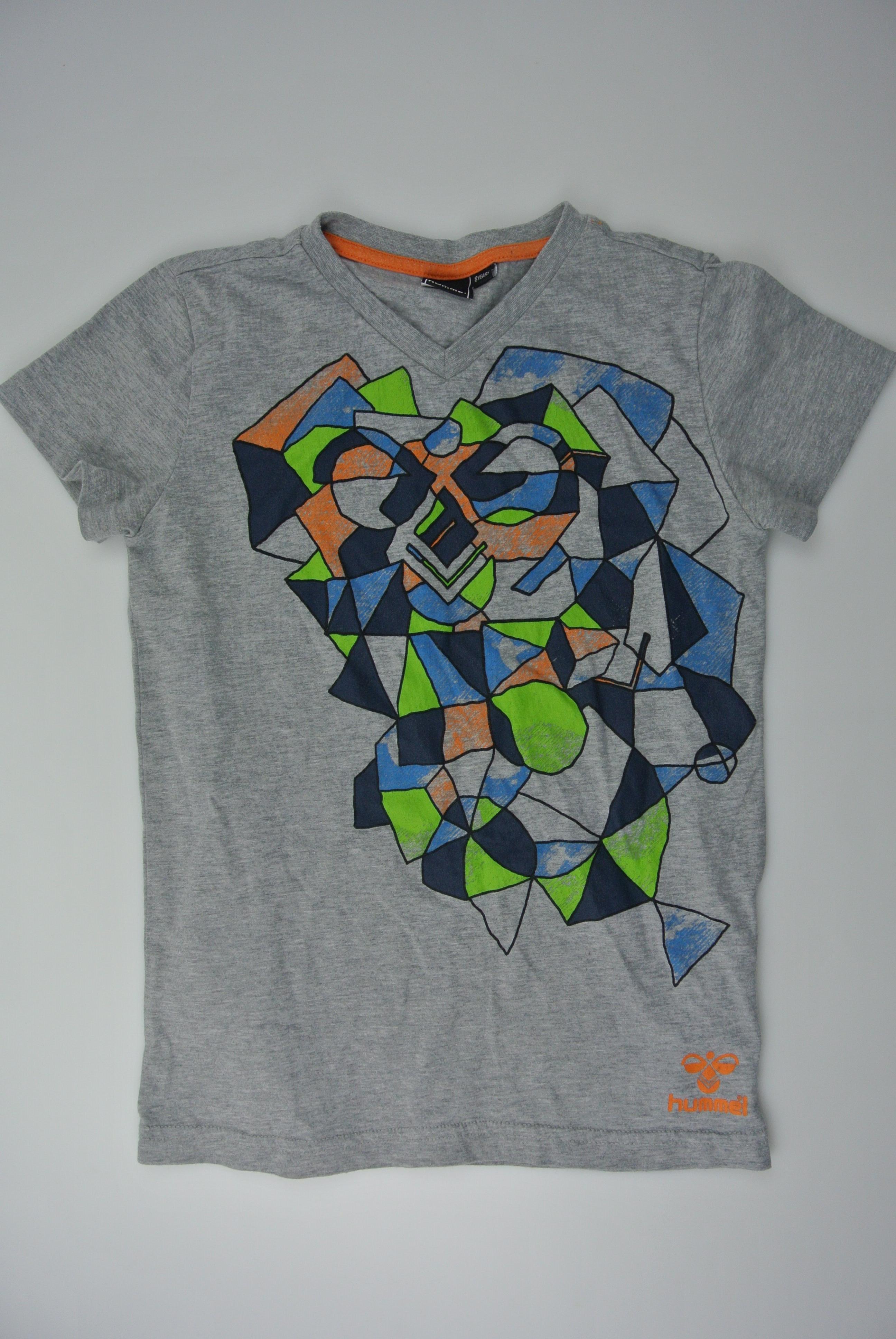 Hummel t-shirt str 128 dreng
