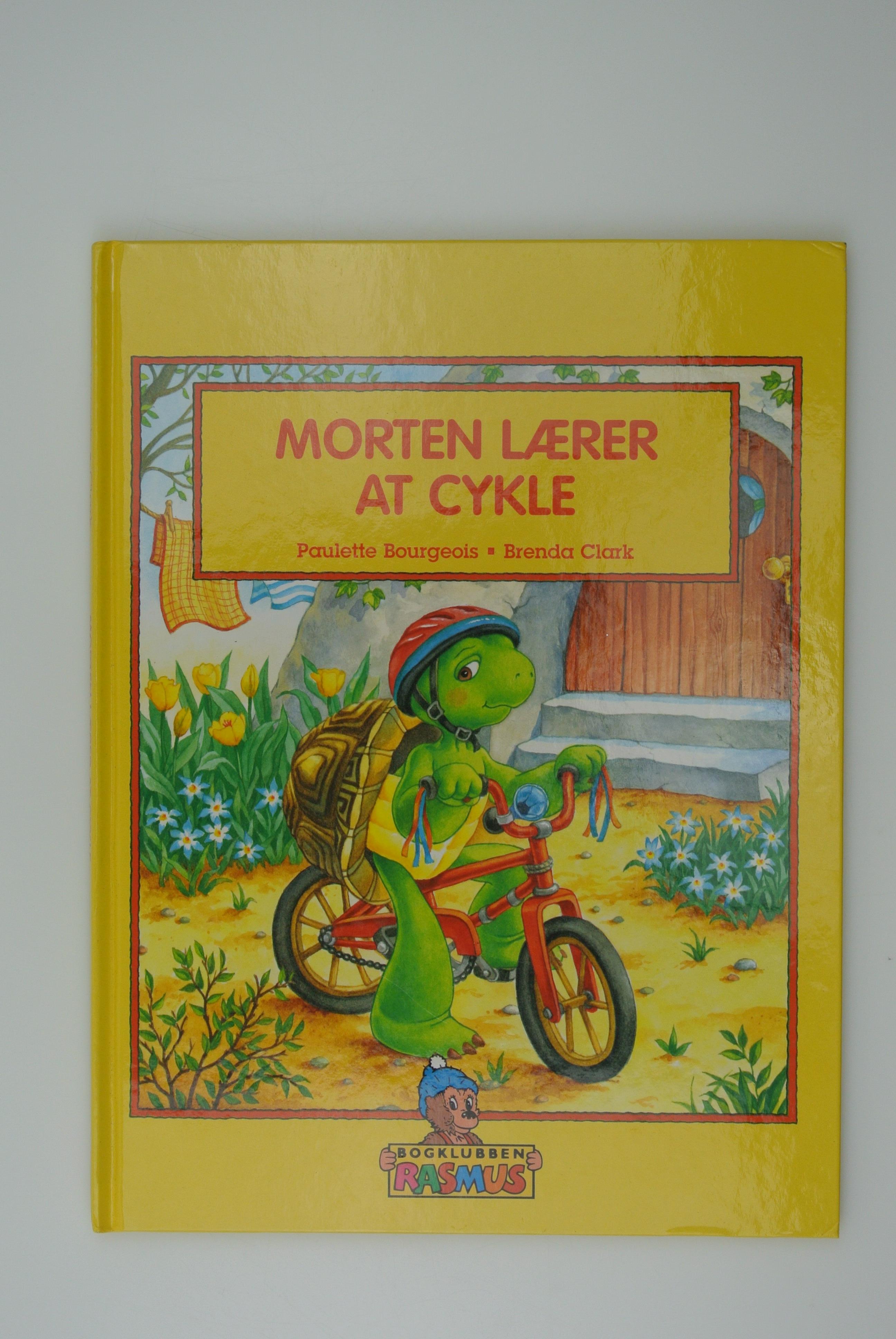 Morten Skildpadde lærer at cykle bog
