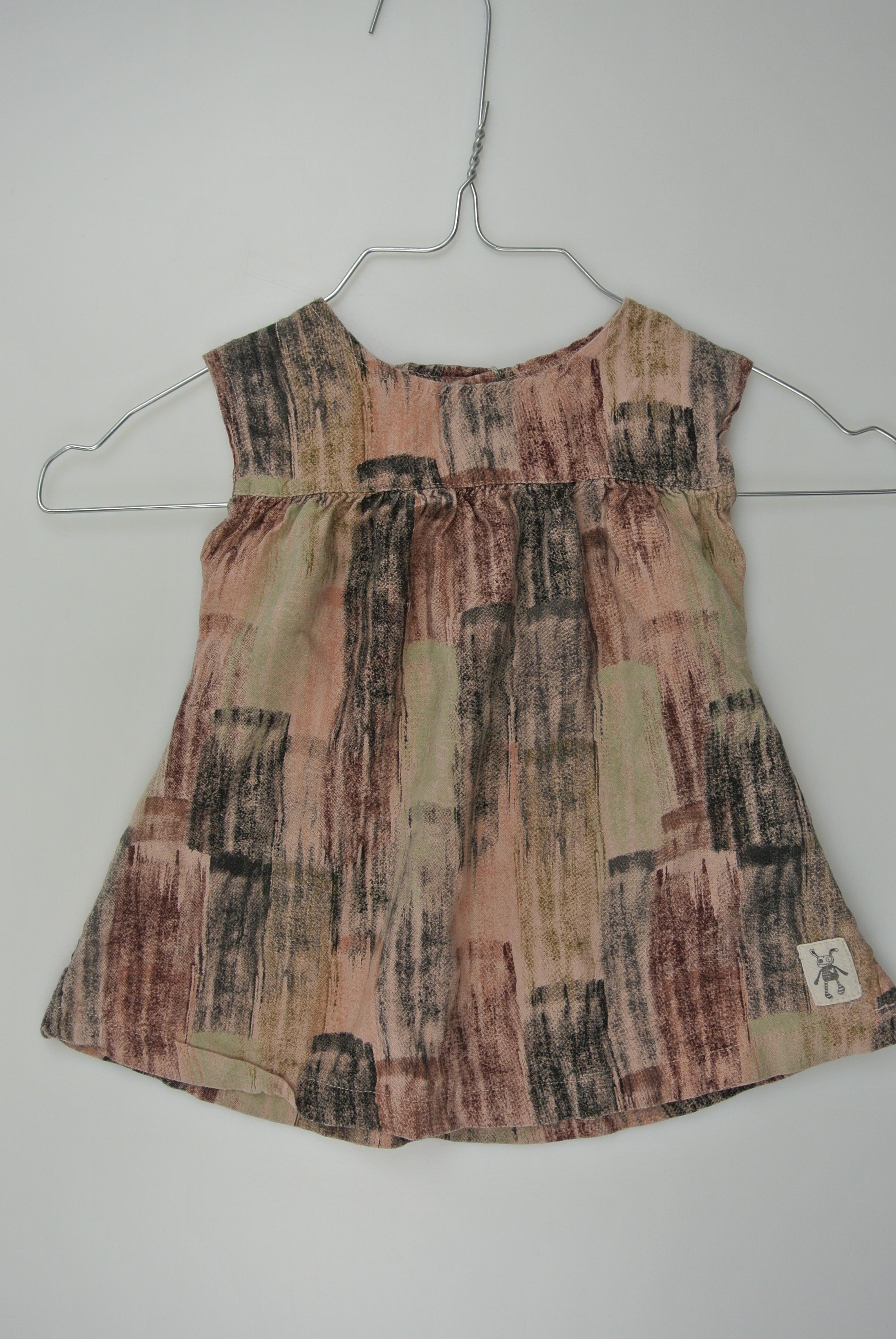 Small rags kjole str 62 pige