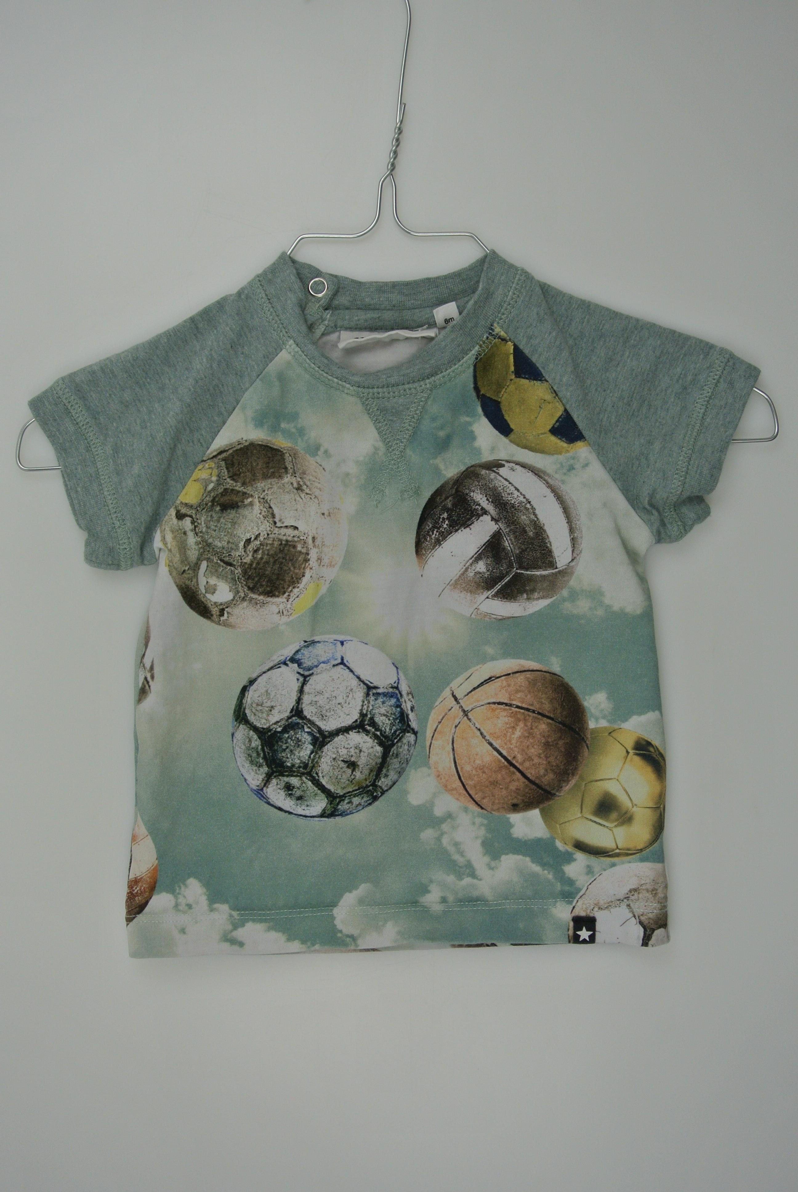 Molo t-shirt str 68 dreng