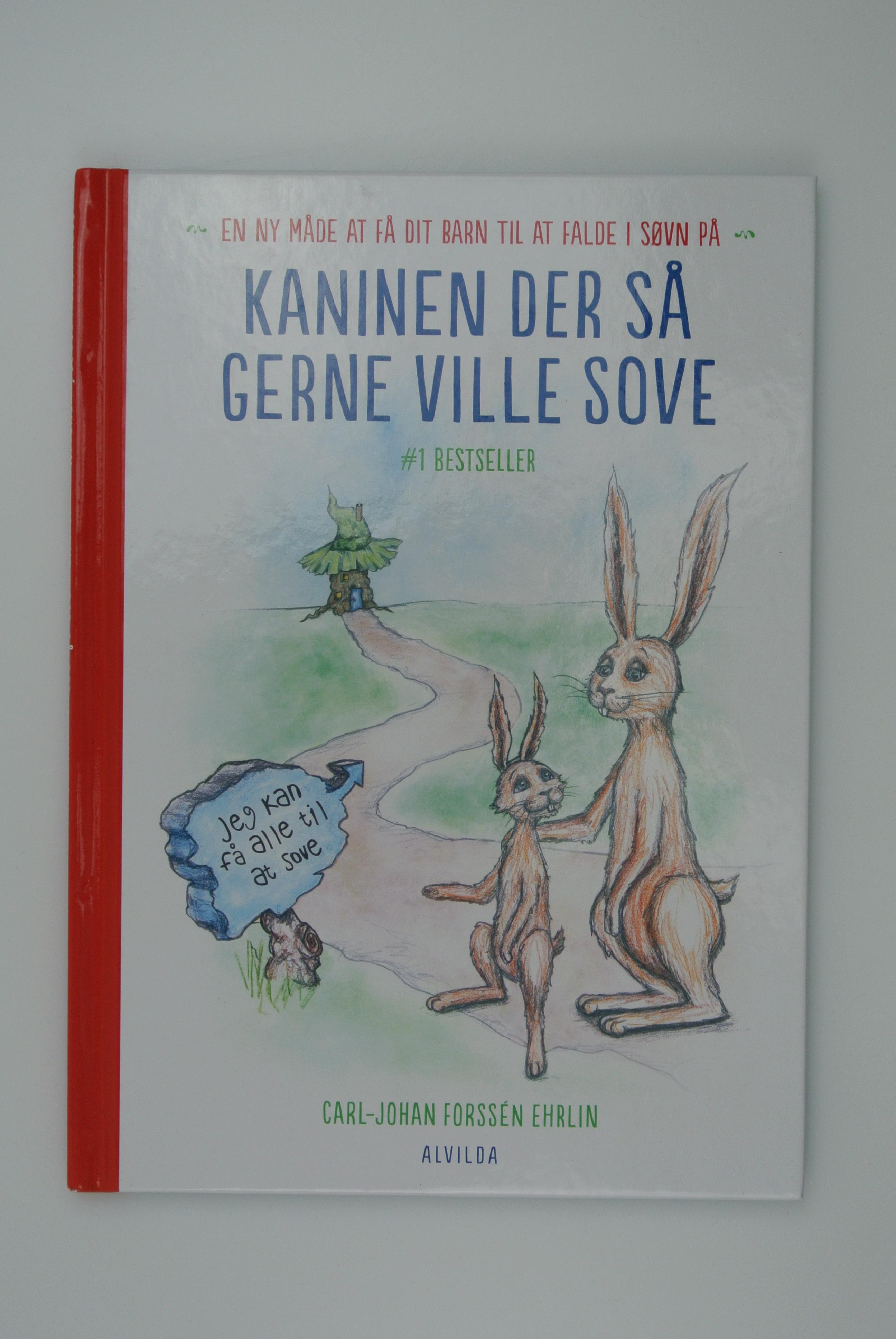 Kaninen der så gerne ville sove bog