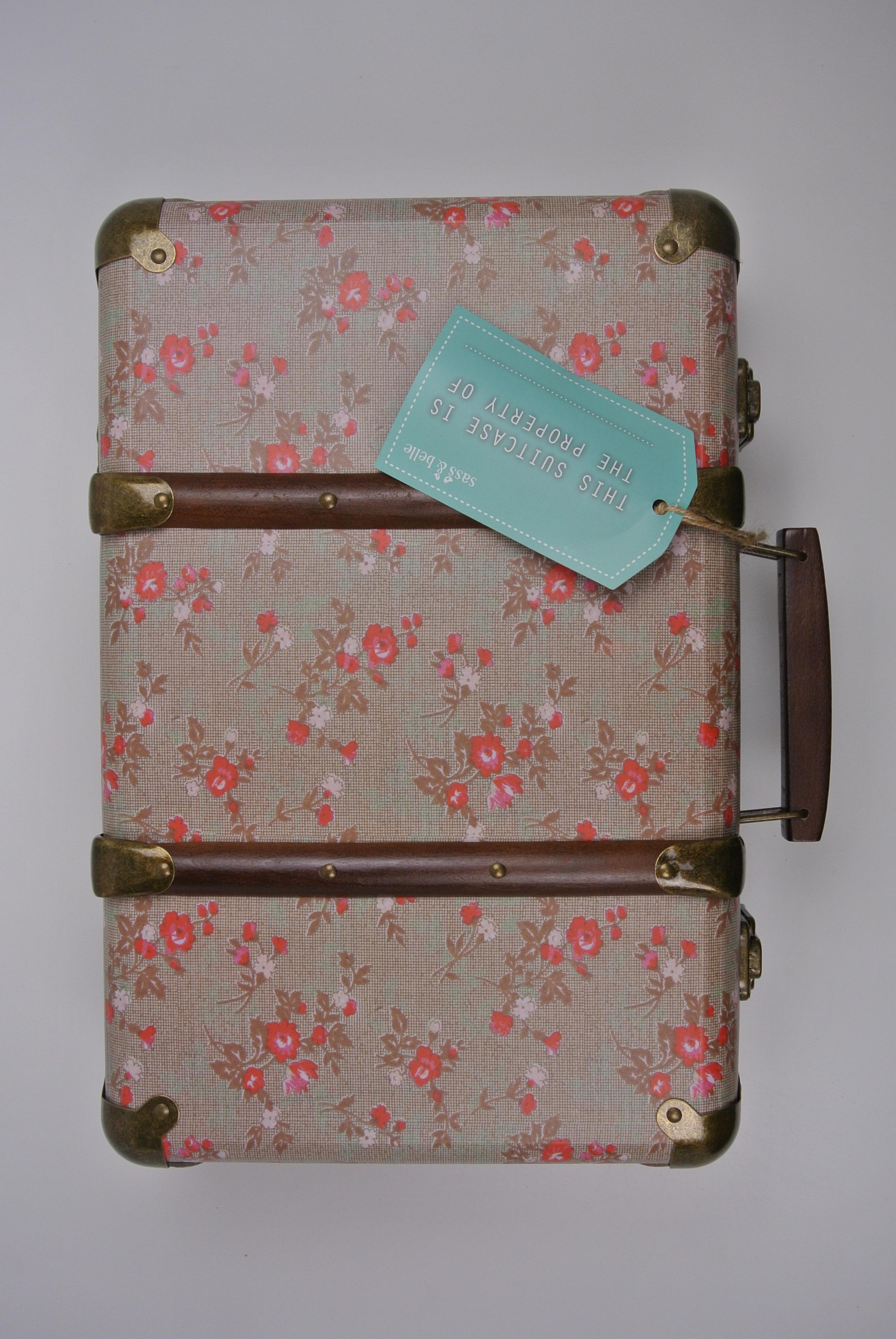 Sass & Belle kuffert ny