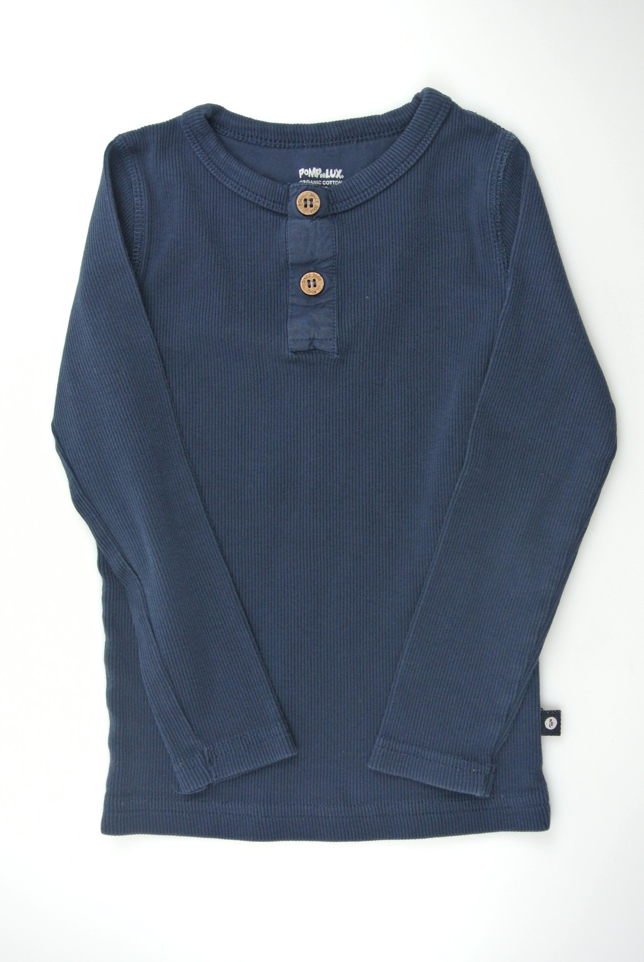 Pompdelux bluse str 98 dreng