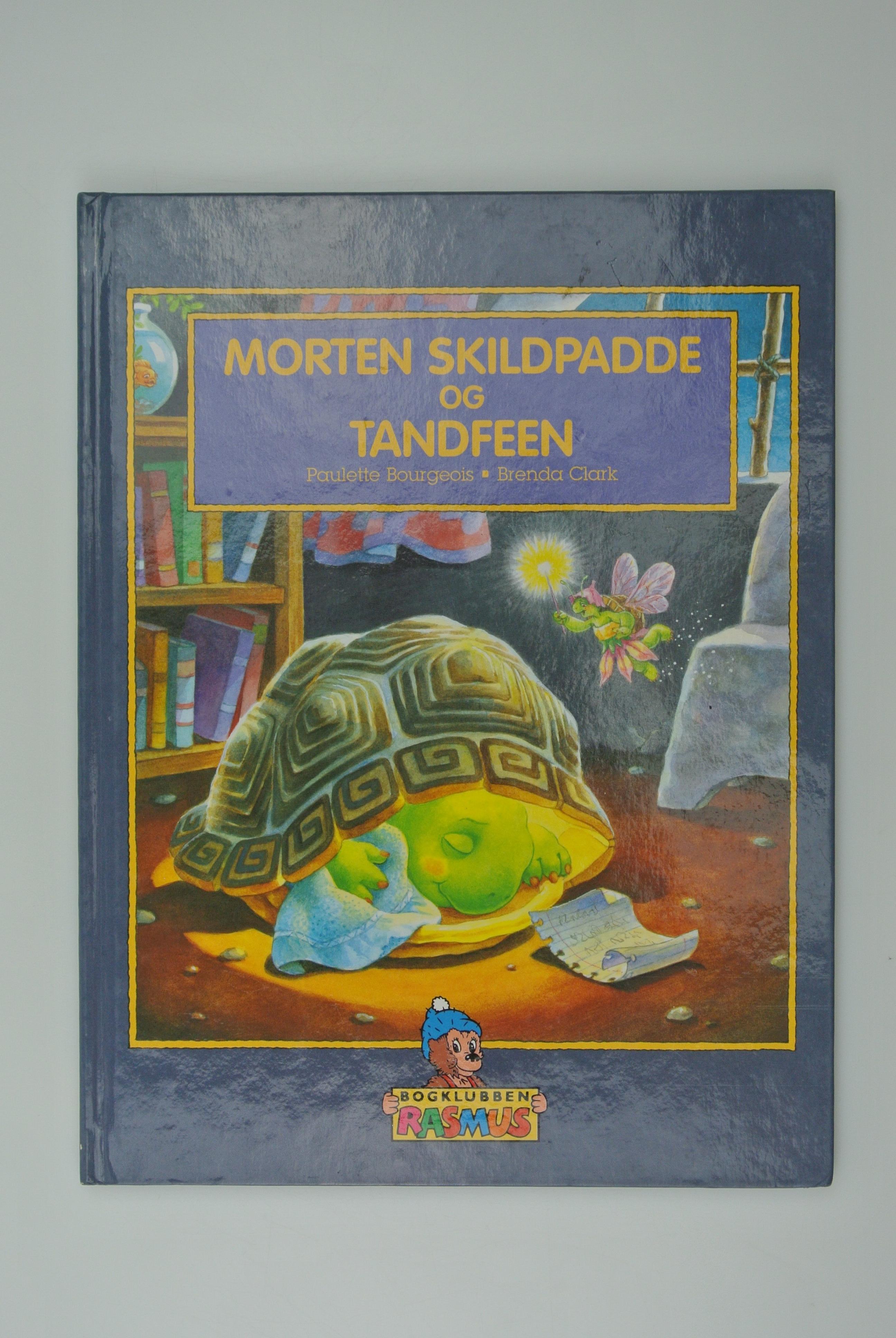 Morten Skildpadde og tandfeen bog