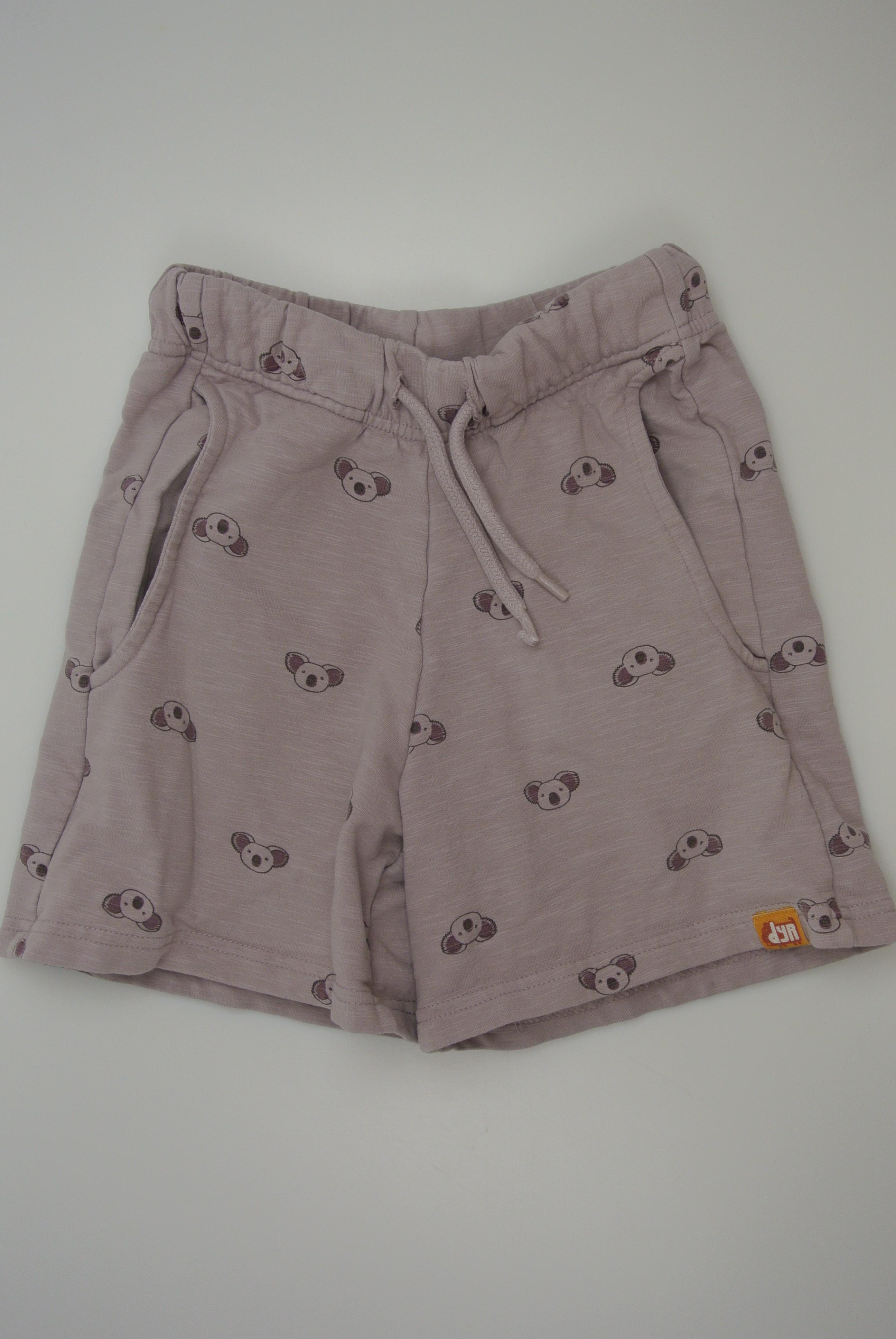 Dyr shorts str 116 pige