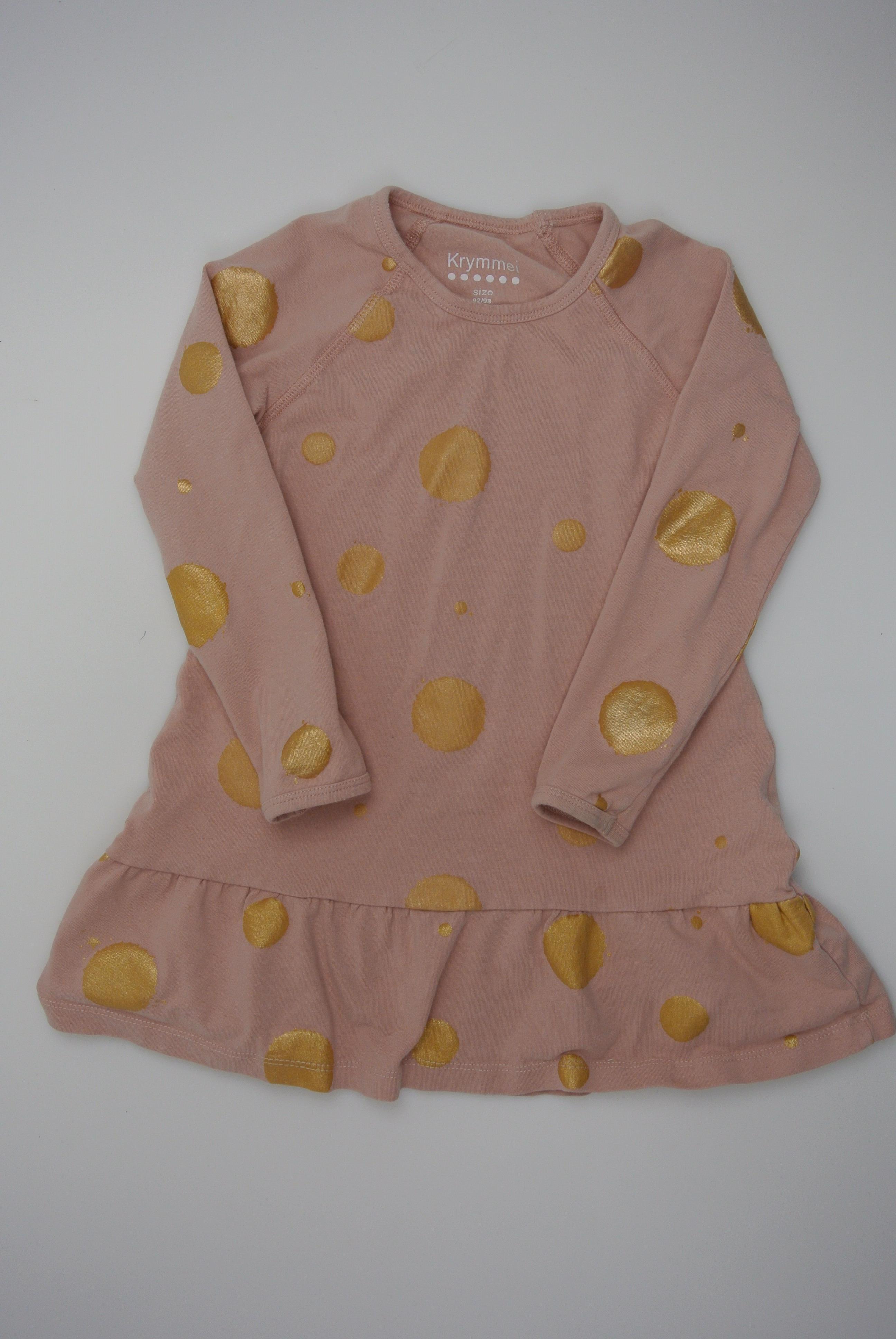 Krymmel kjole str 92/98 pige