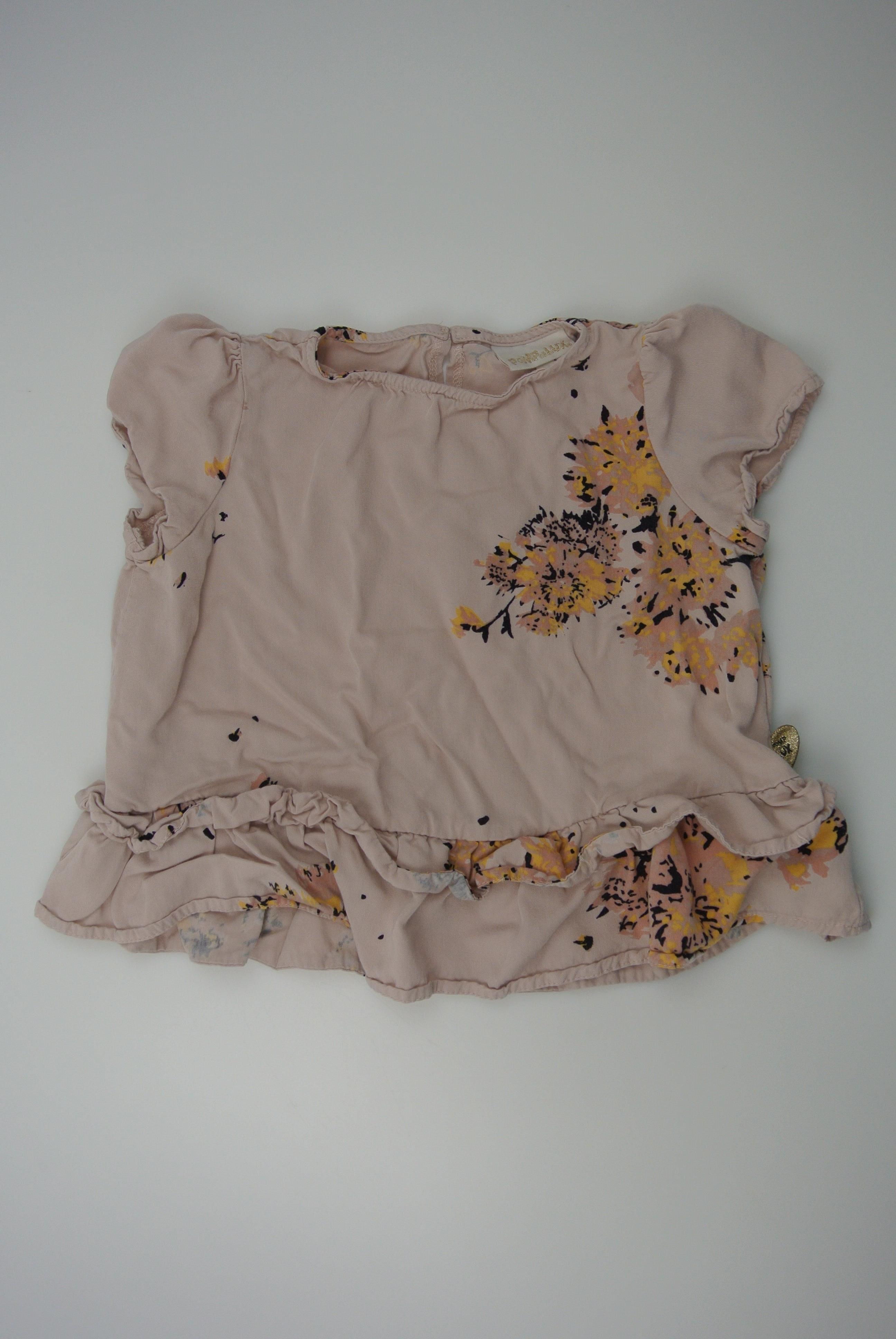 Pompdelux t-shirt str 110/116 pige