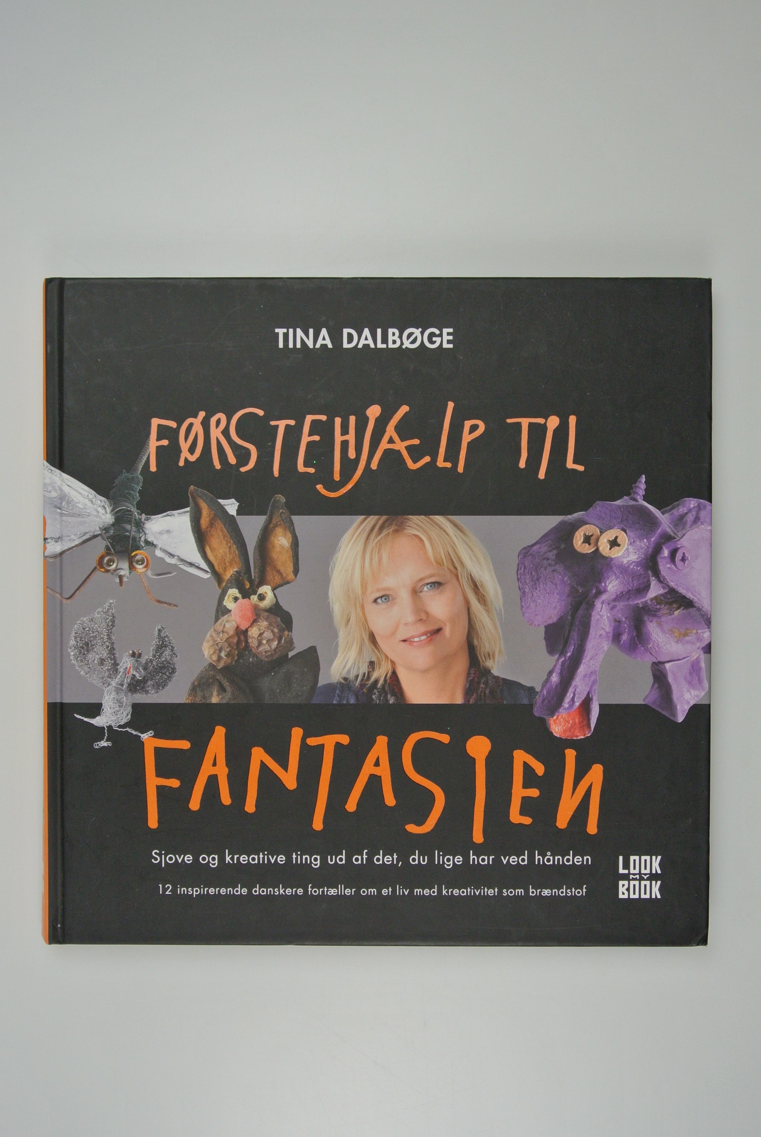 Førstehjælp til fantasien bog