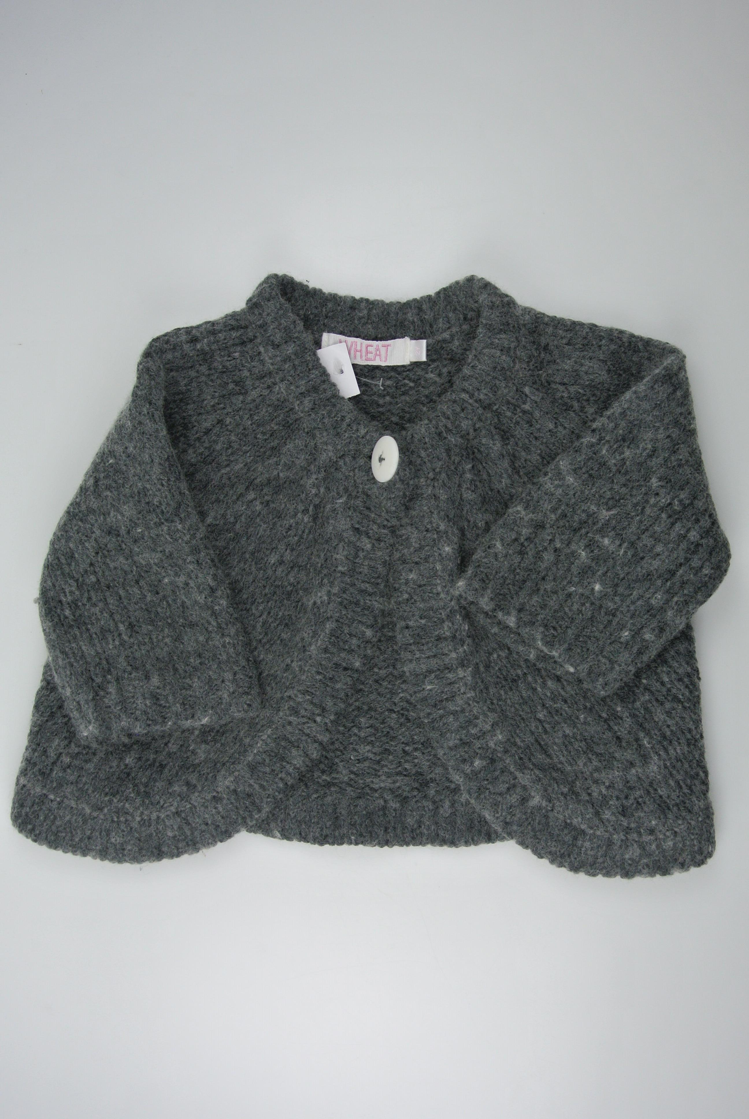Wheat trøje str 92 pige uld