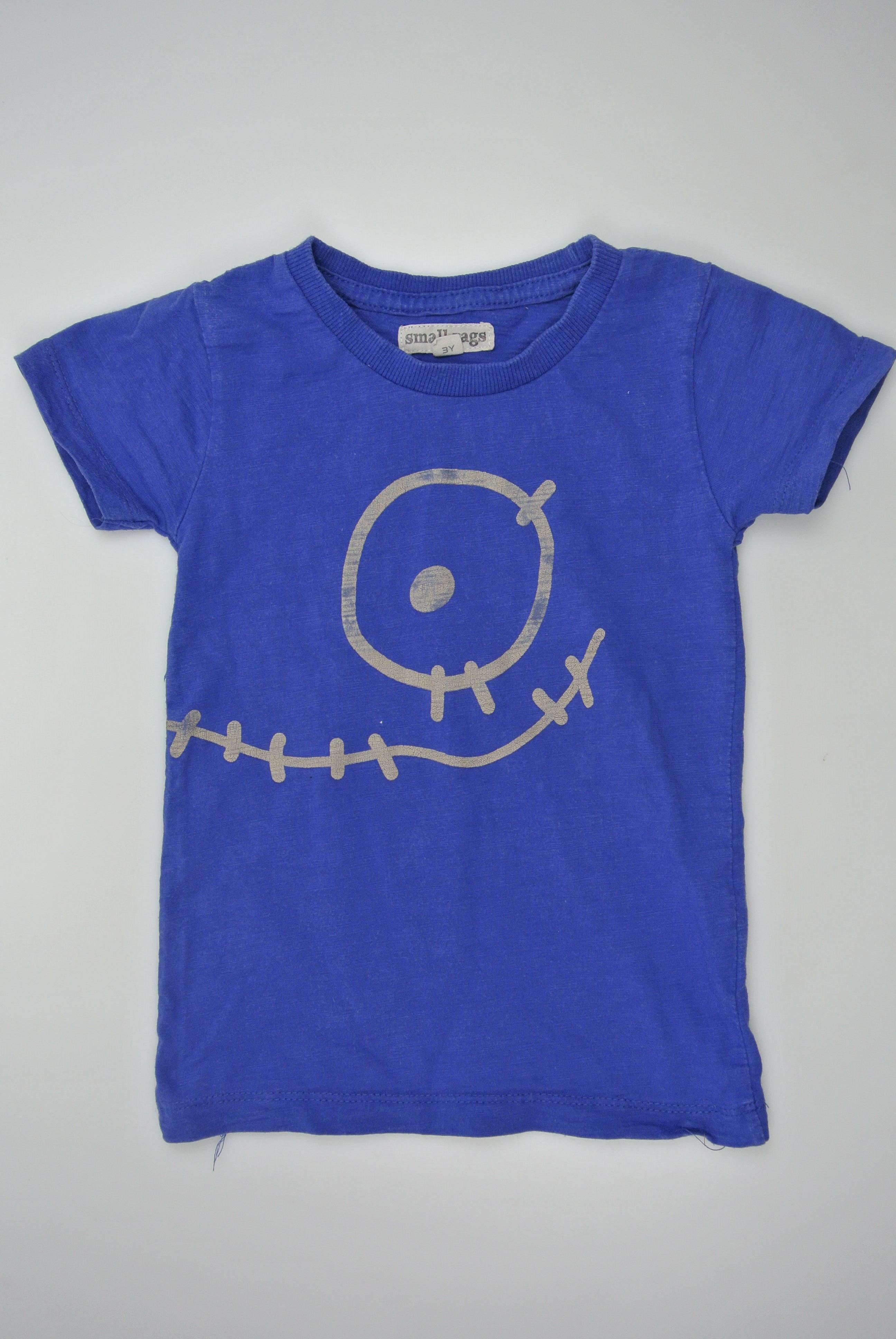Small Rags t-shirt str 98 dreng