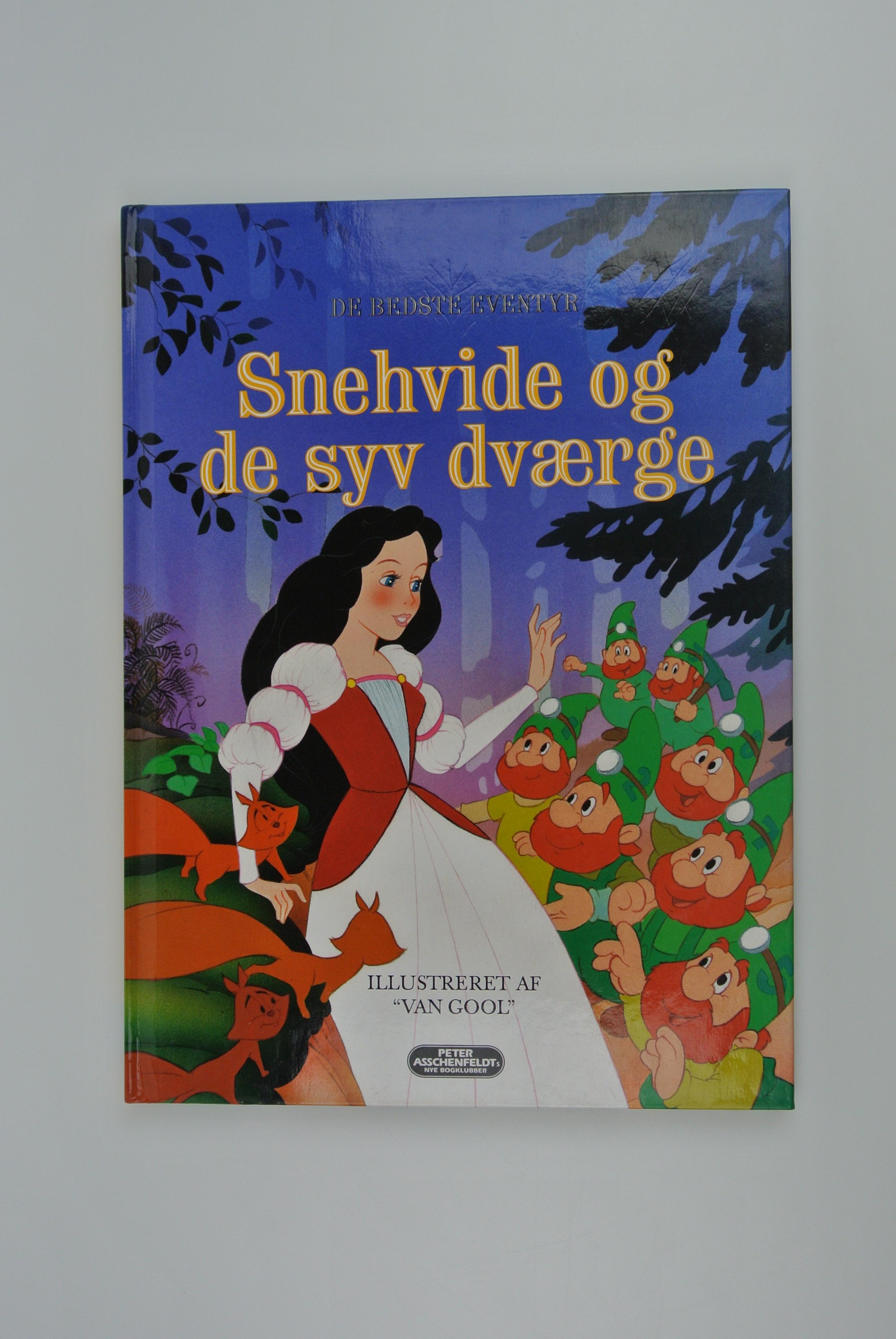 Snehvid og de 7 dværge bog