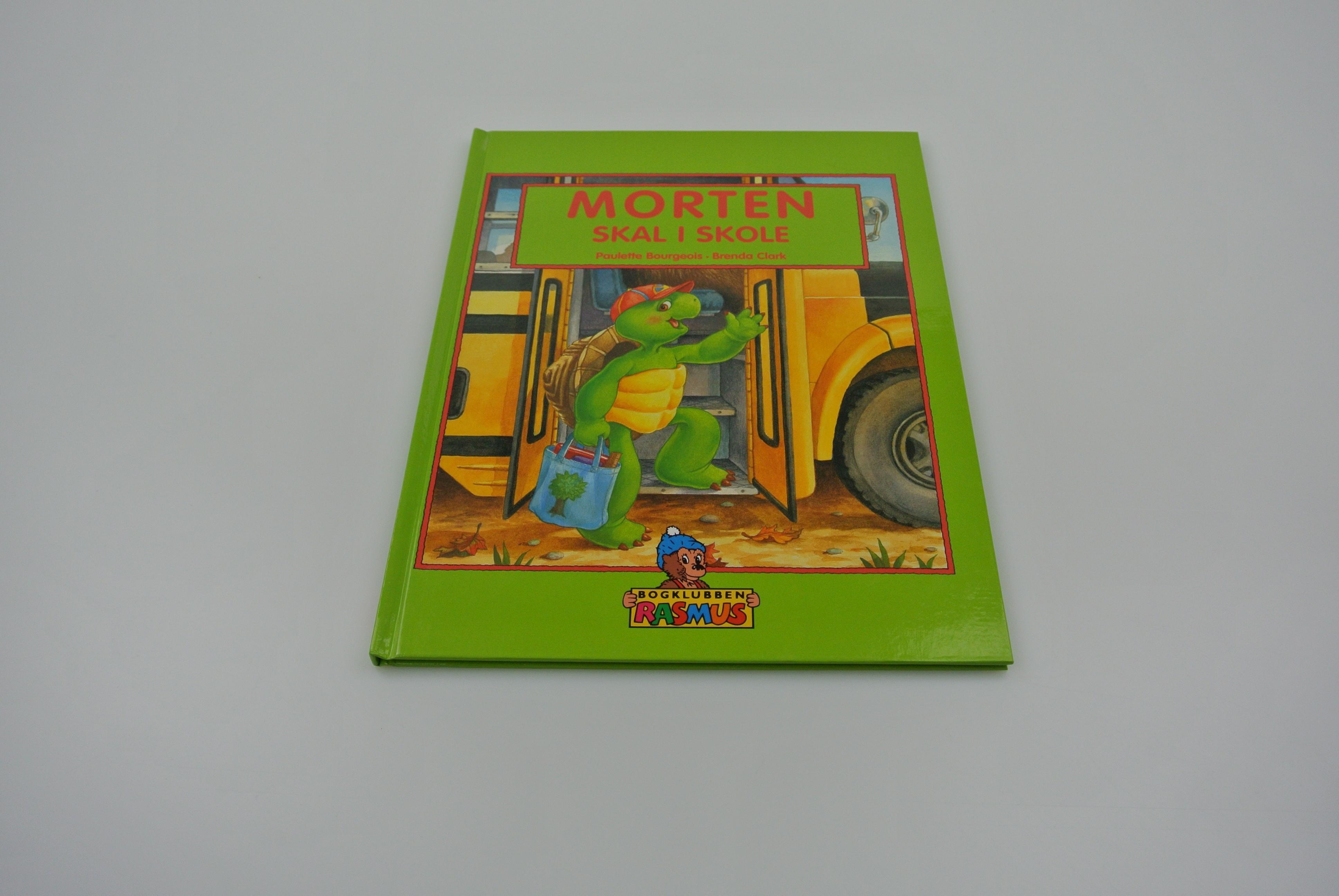 Morten skal i skole bog