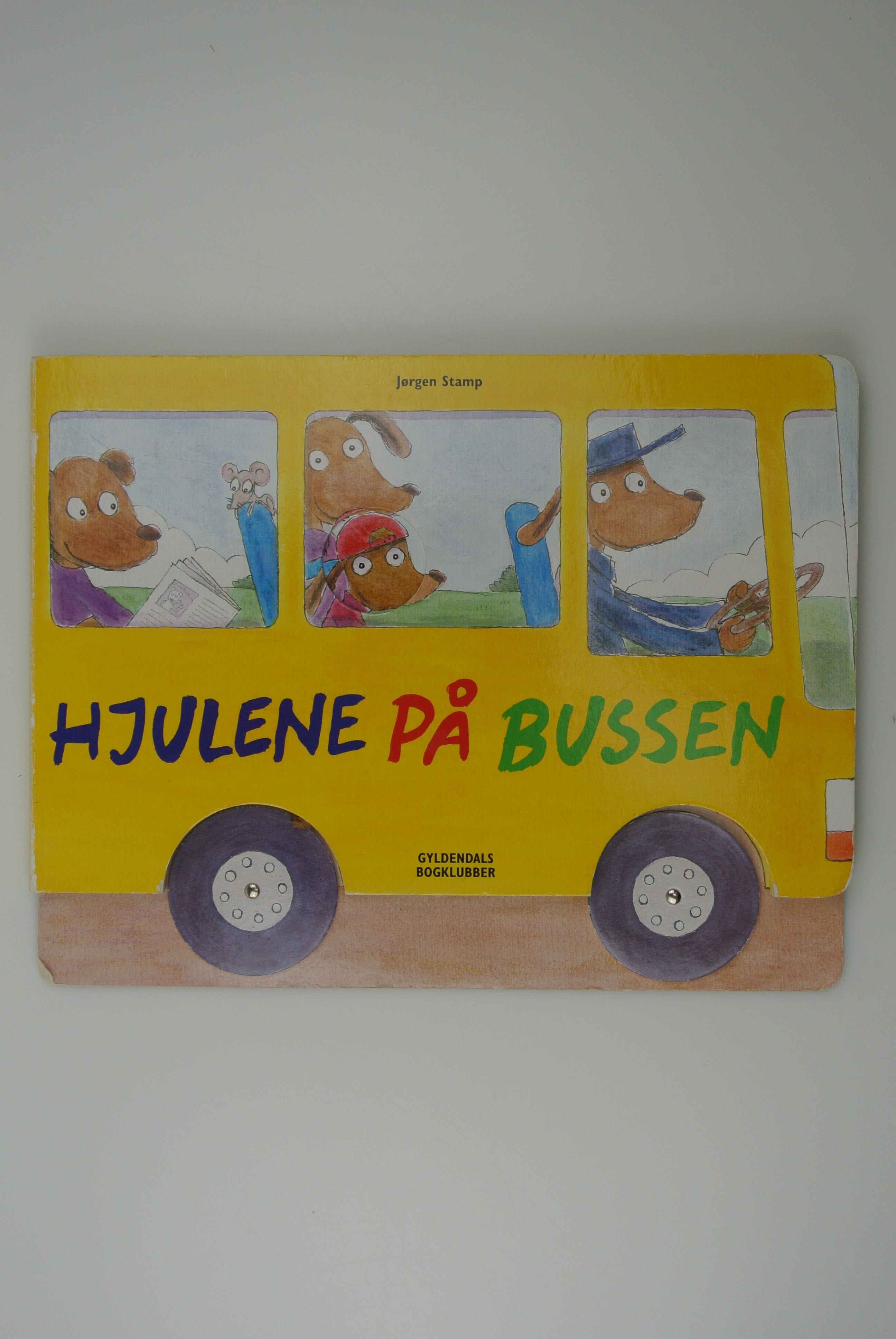 Hjulene på bussen bog