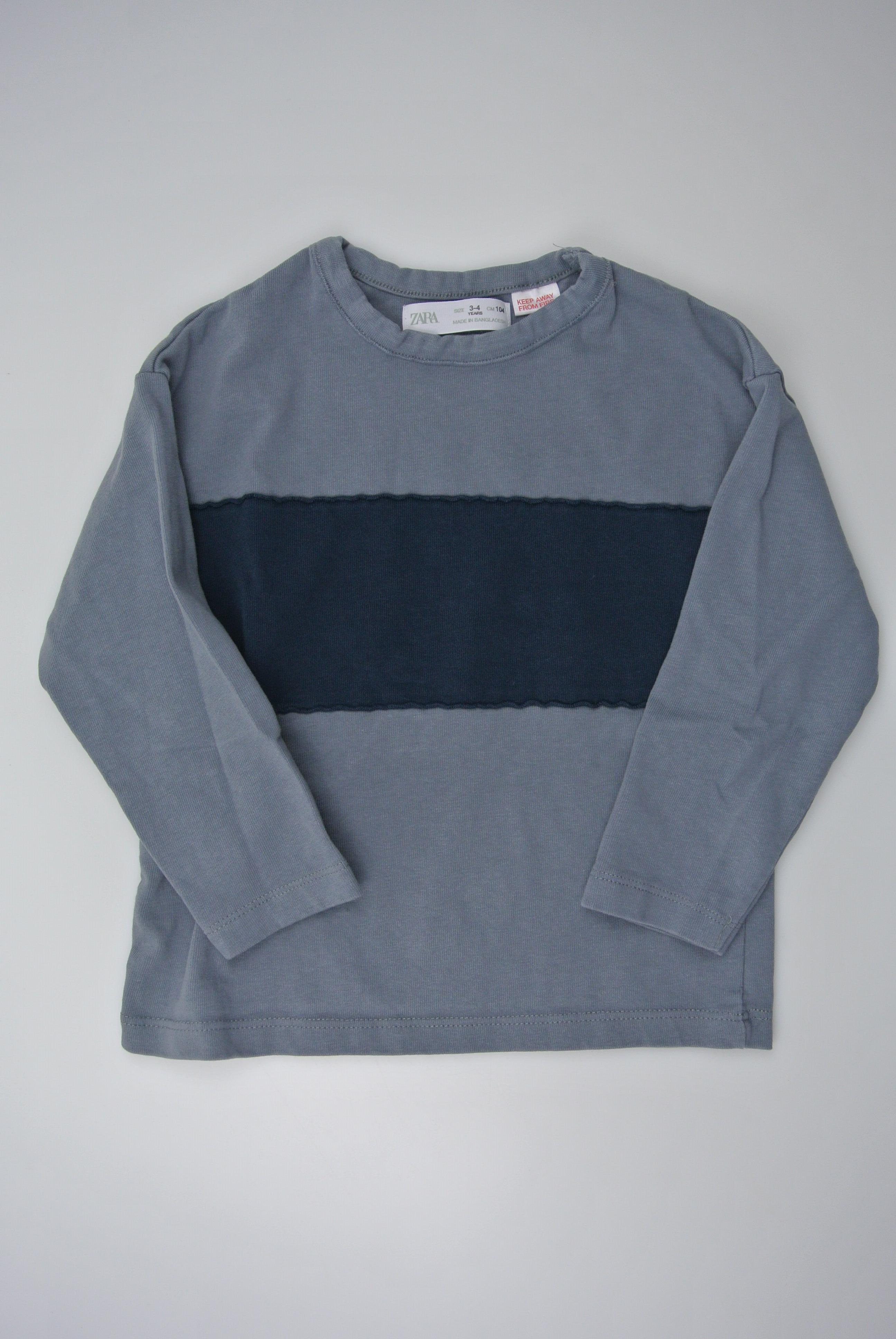 Zara trøje str 98/104 dreng