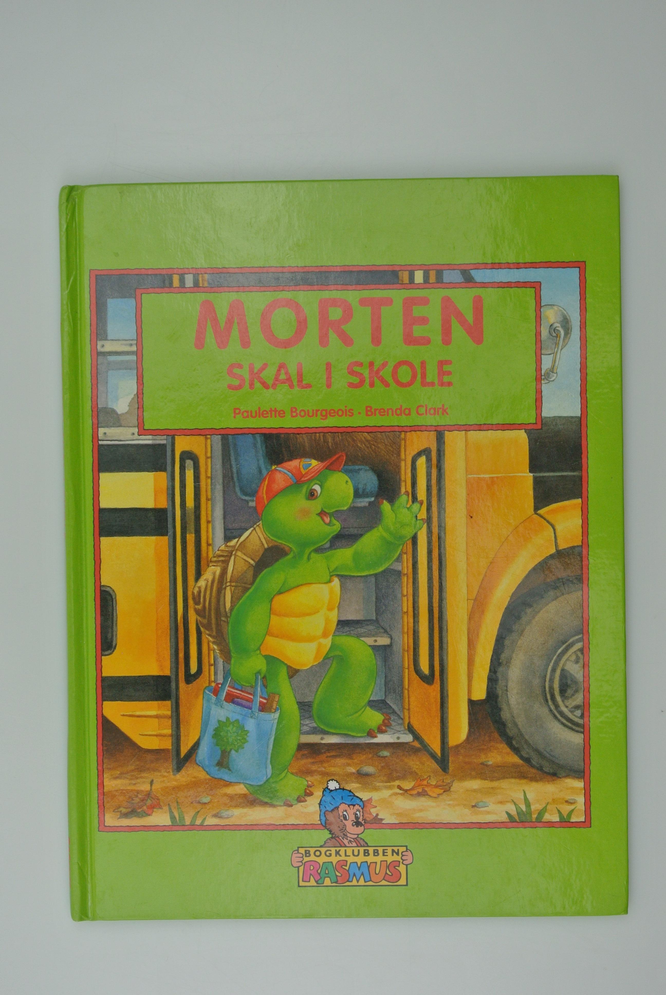 Morten Skildpadde skal i skole bog