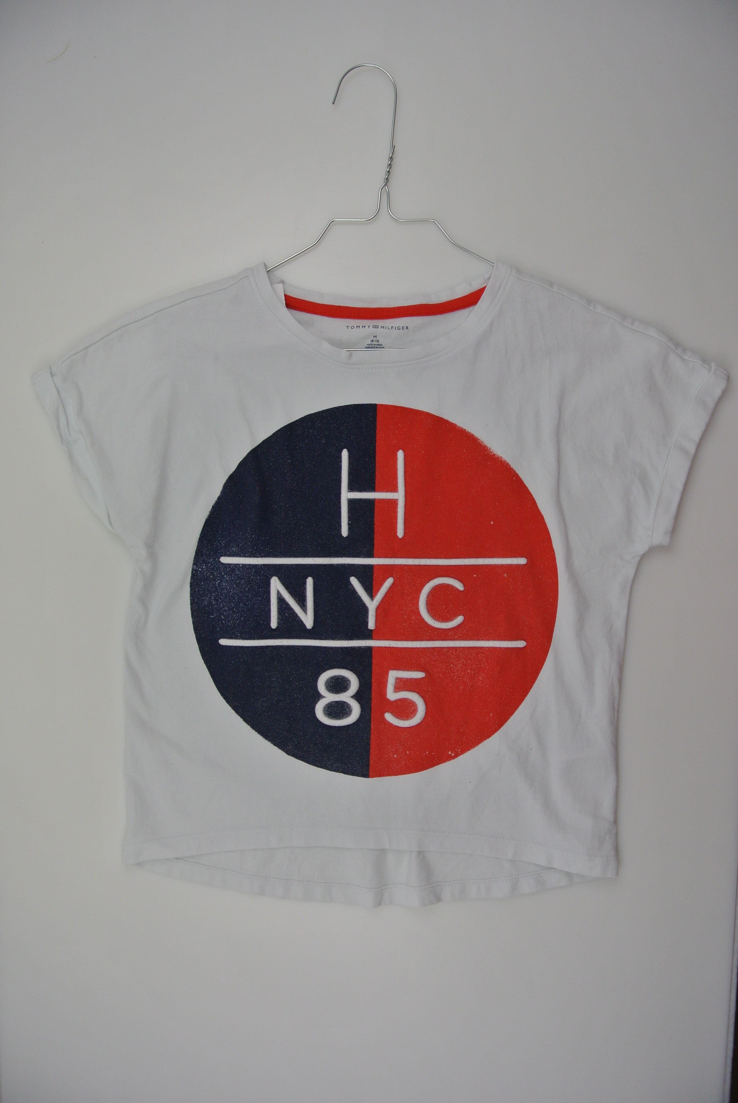 Tommy hilfiger t-shirt str 128 pige 8-10y