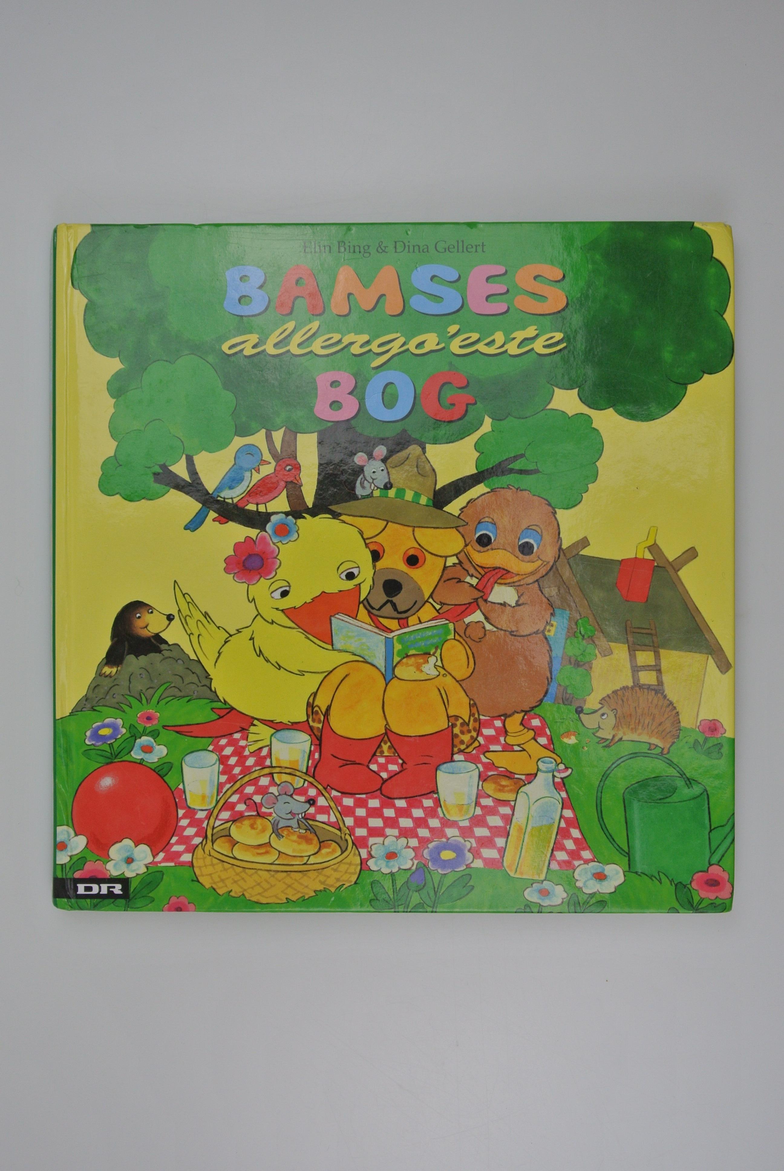 Bamses allergoeste bog