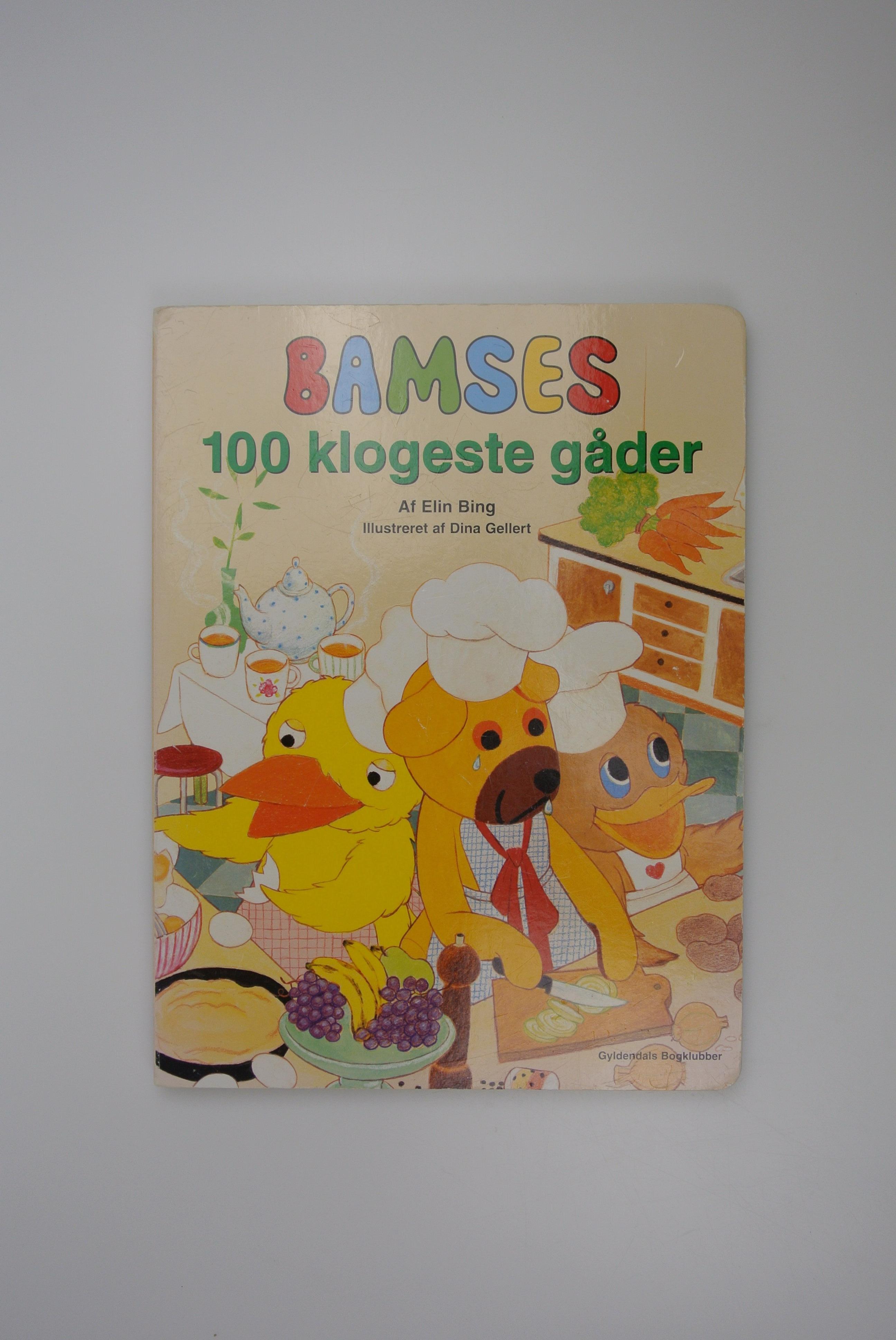 Bamses 100 klogeste gåder bog