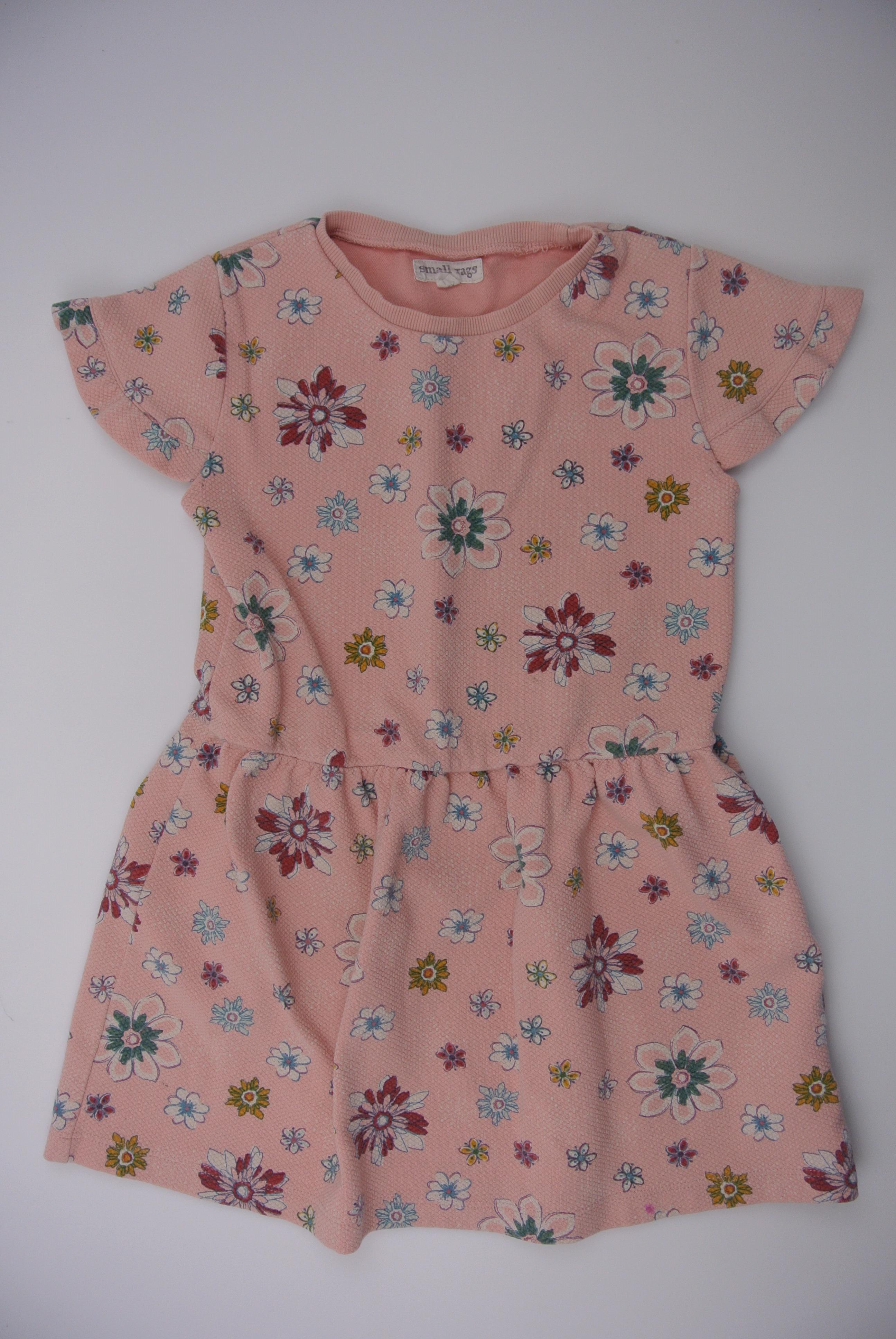 Small rags kjole str 116 pige