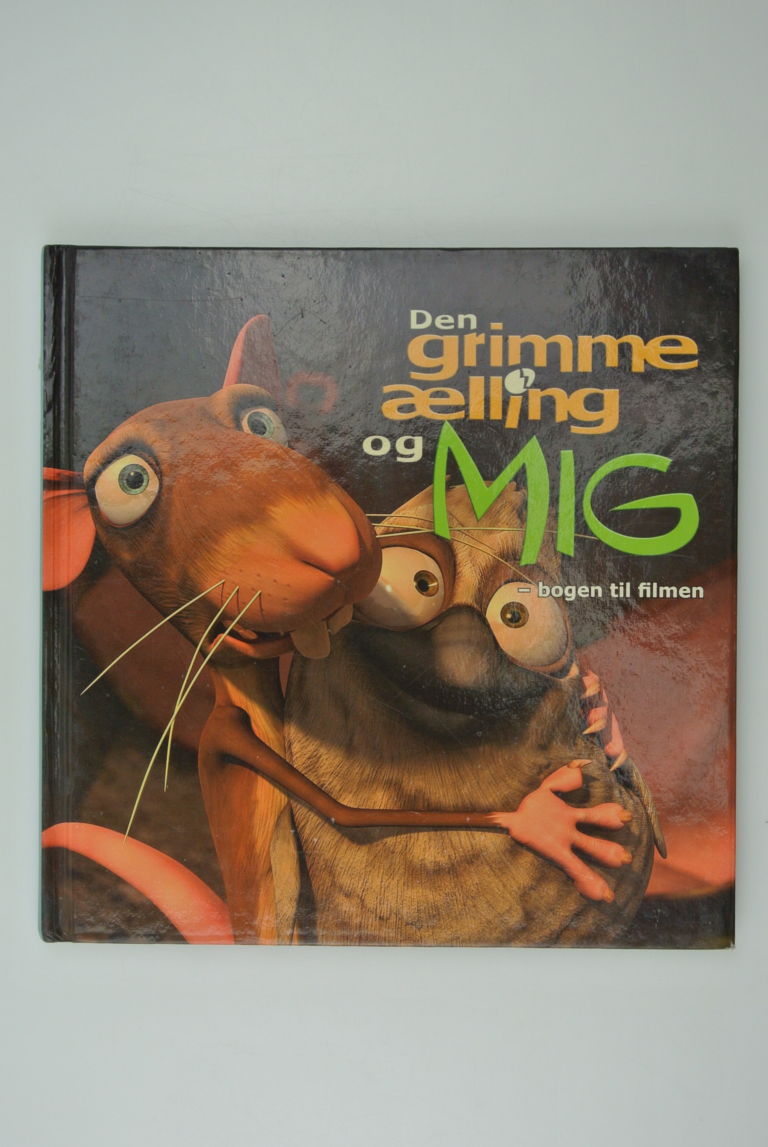 Den grimme ælling og mig bog