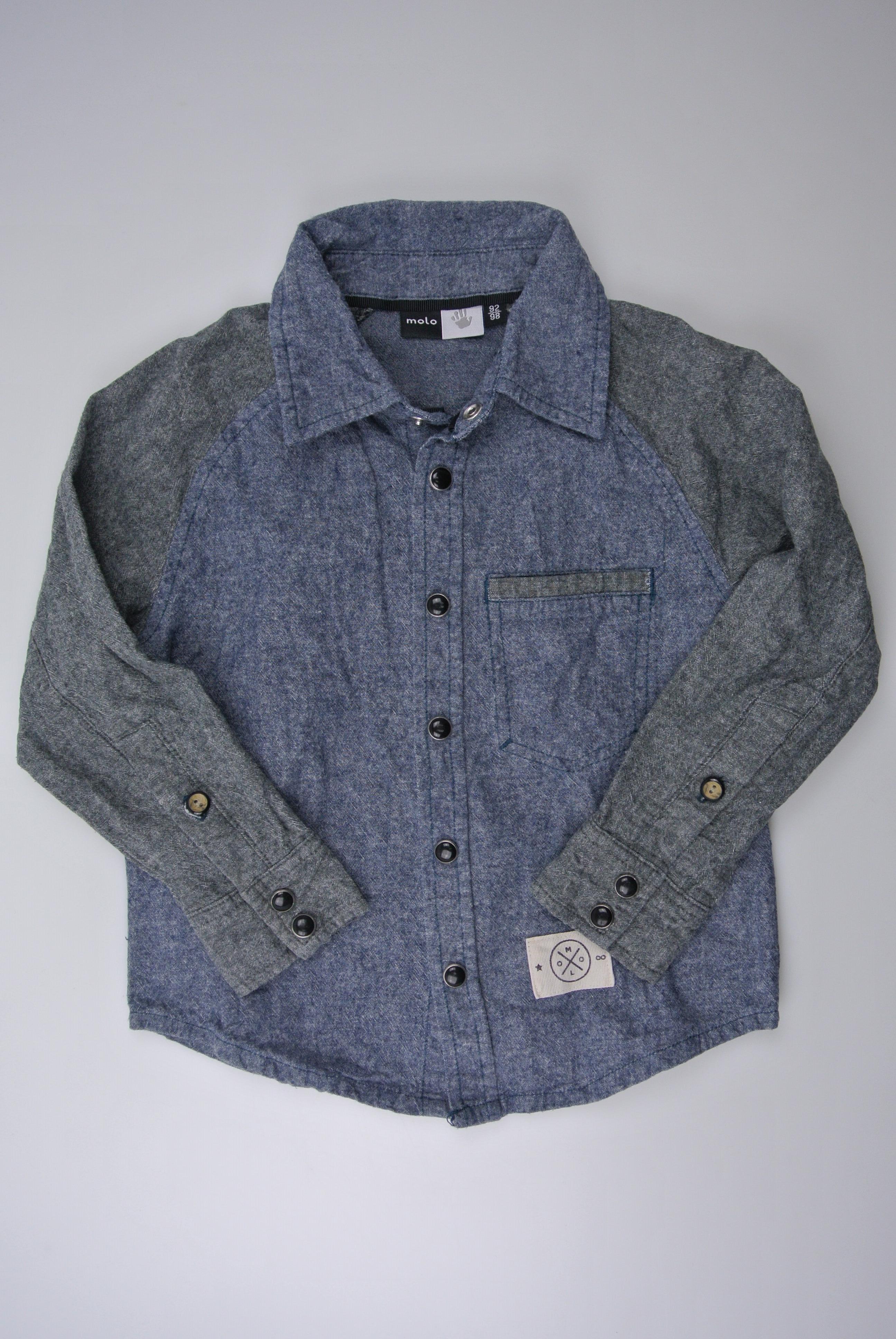Molo skjorte str 92/98 dreng