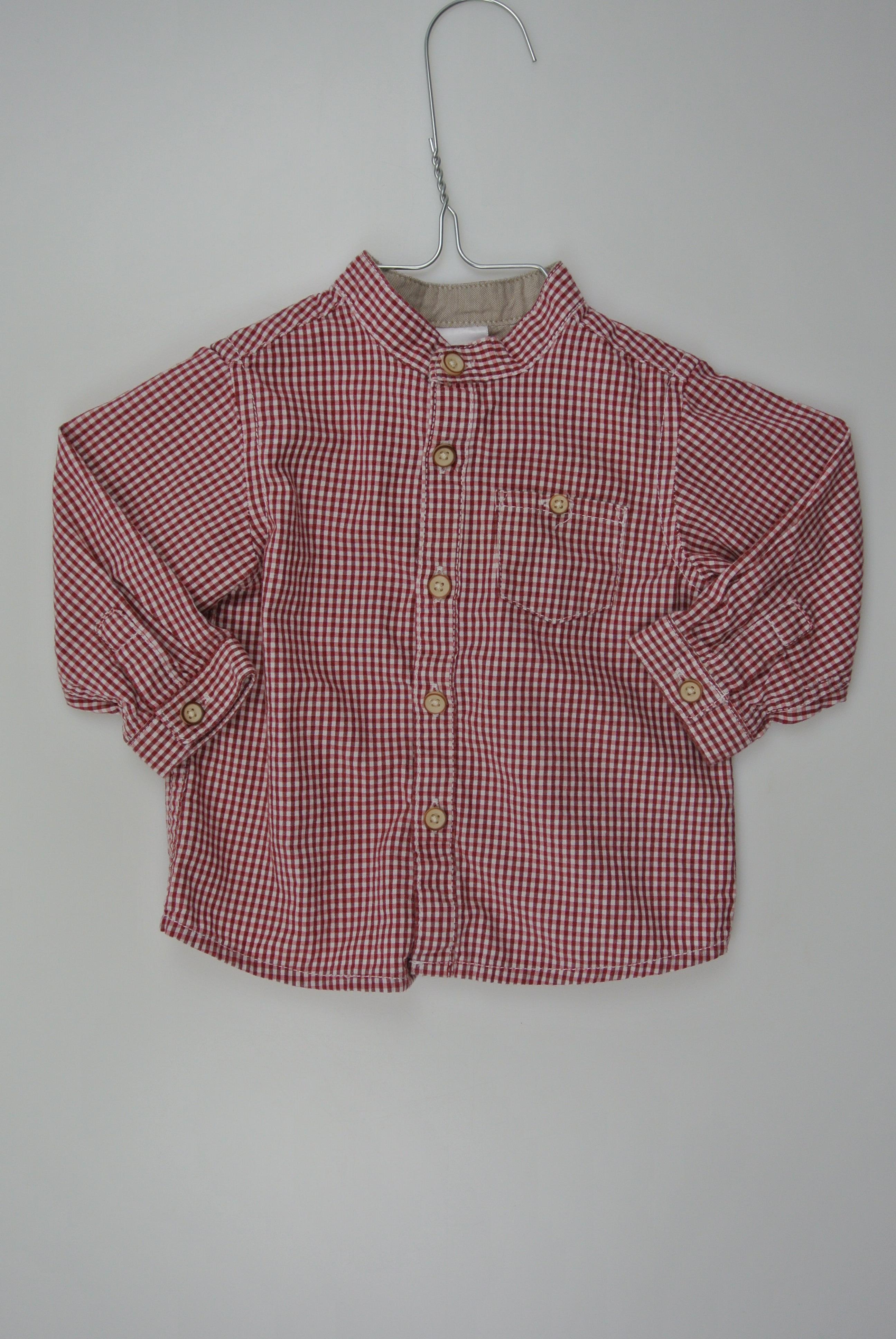 Zara skjorte str 68 dreng