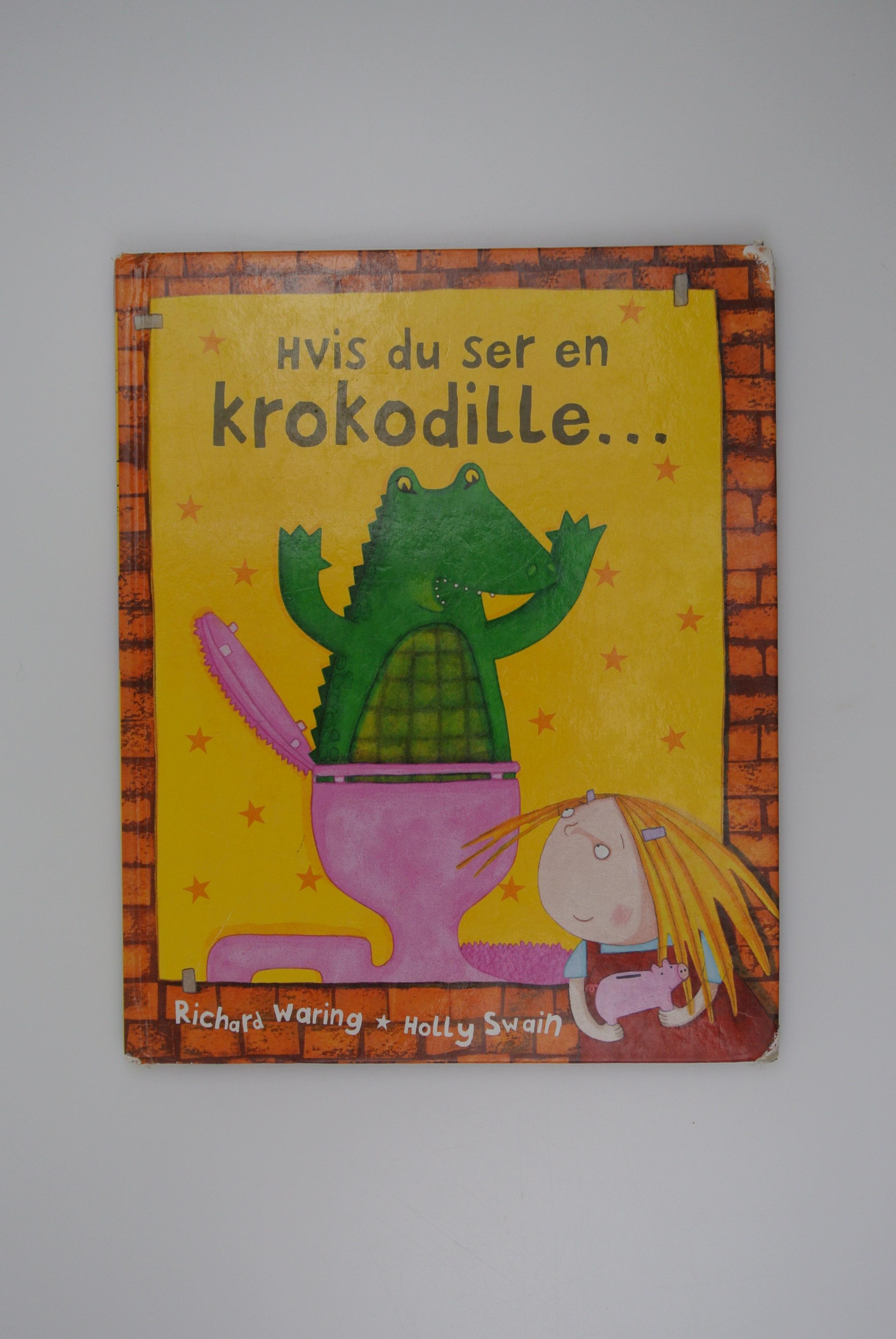 Hvis du ser en krokodille bog