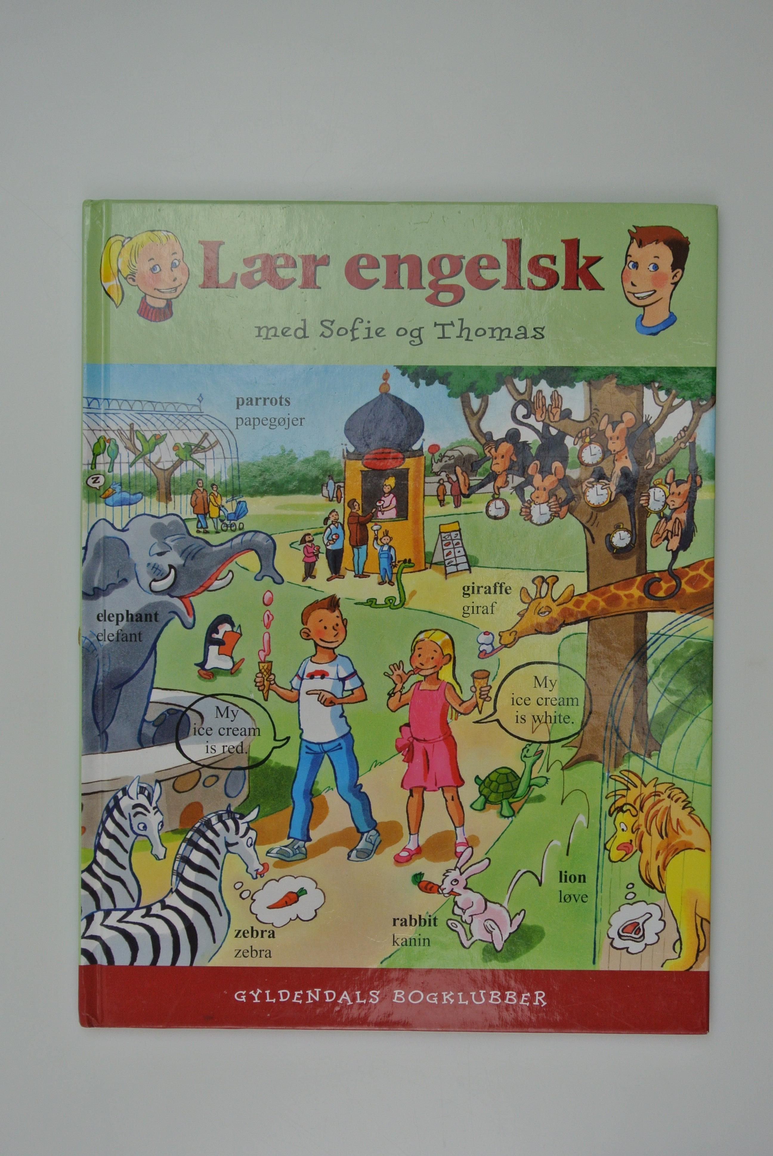 Lær engelsk bog