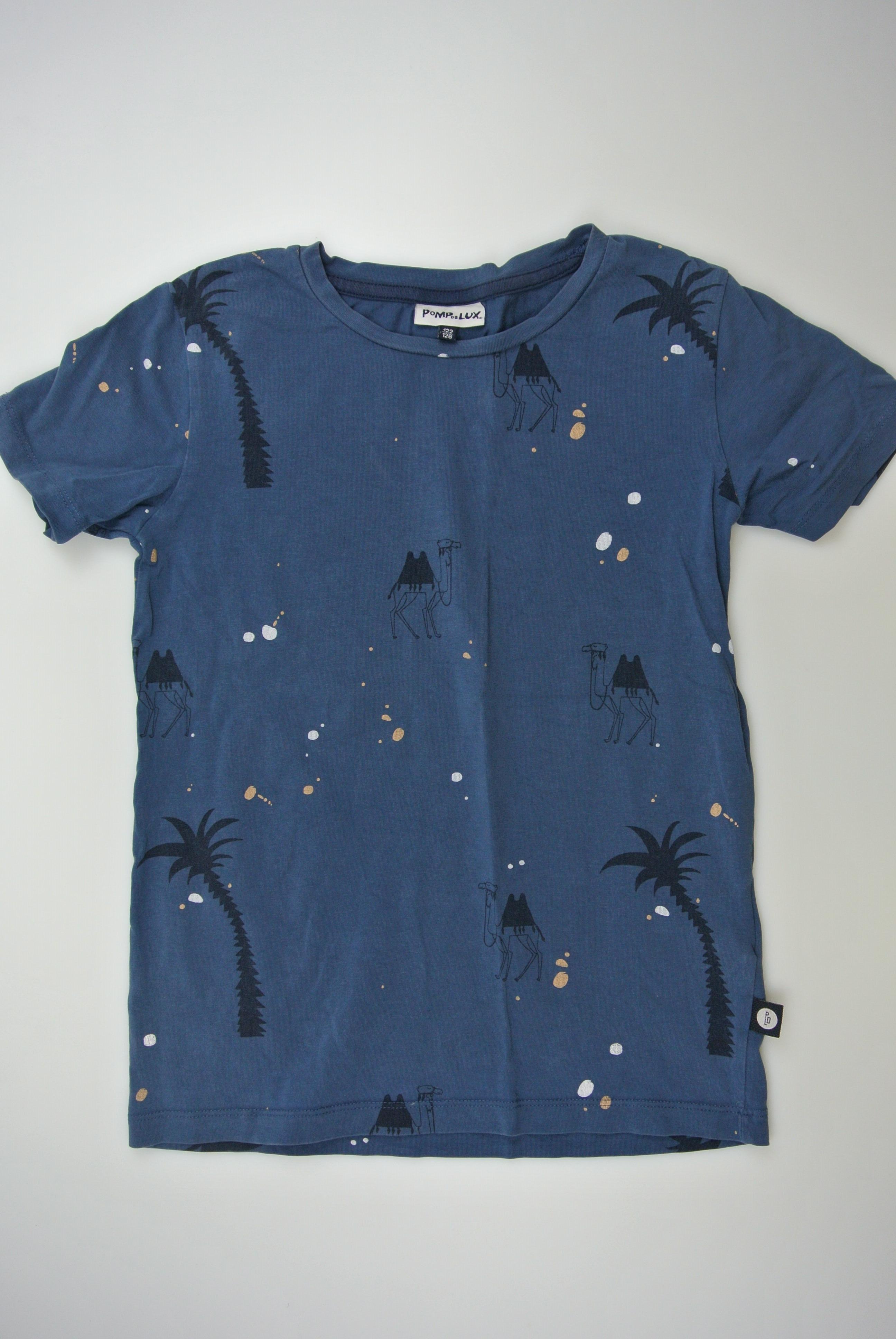 Pompdelux t-shirt str 122/128 dreng
